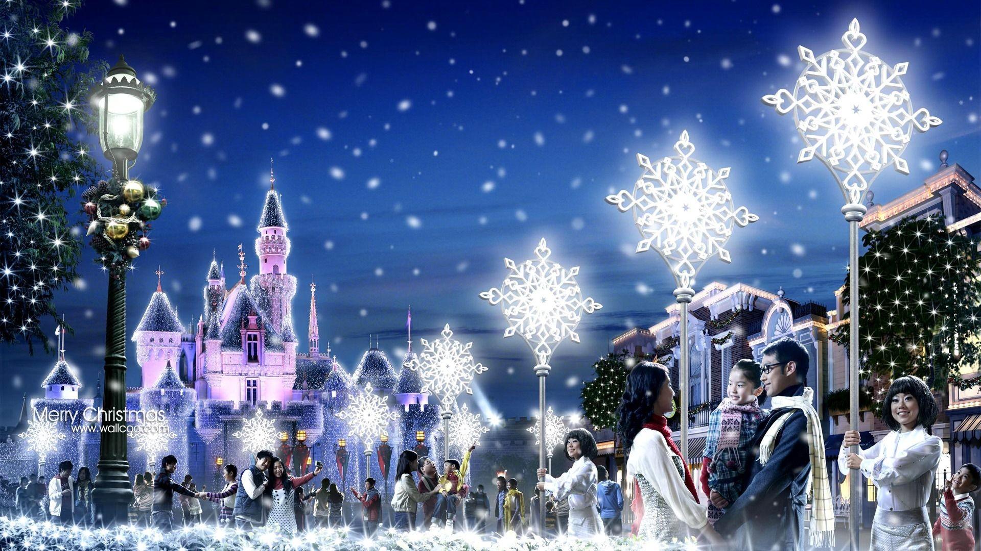 … Inspiration Christmas Snow Backgrounds