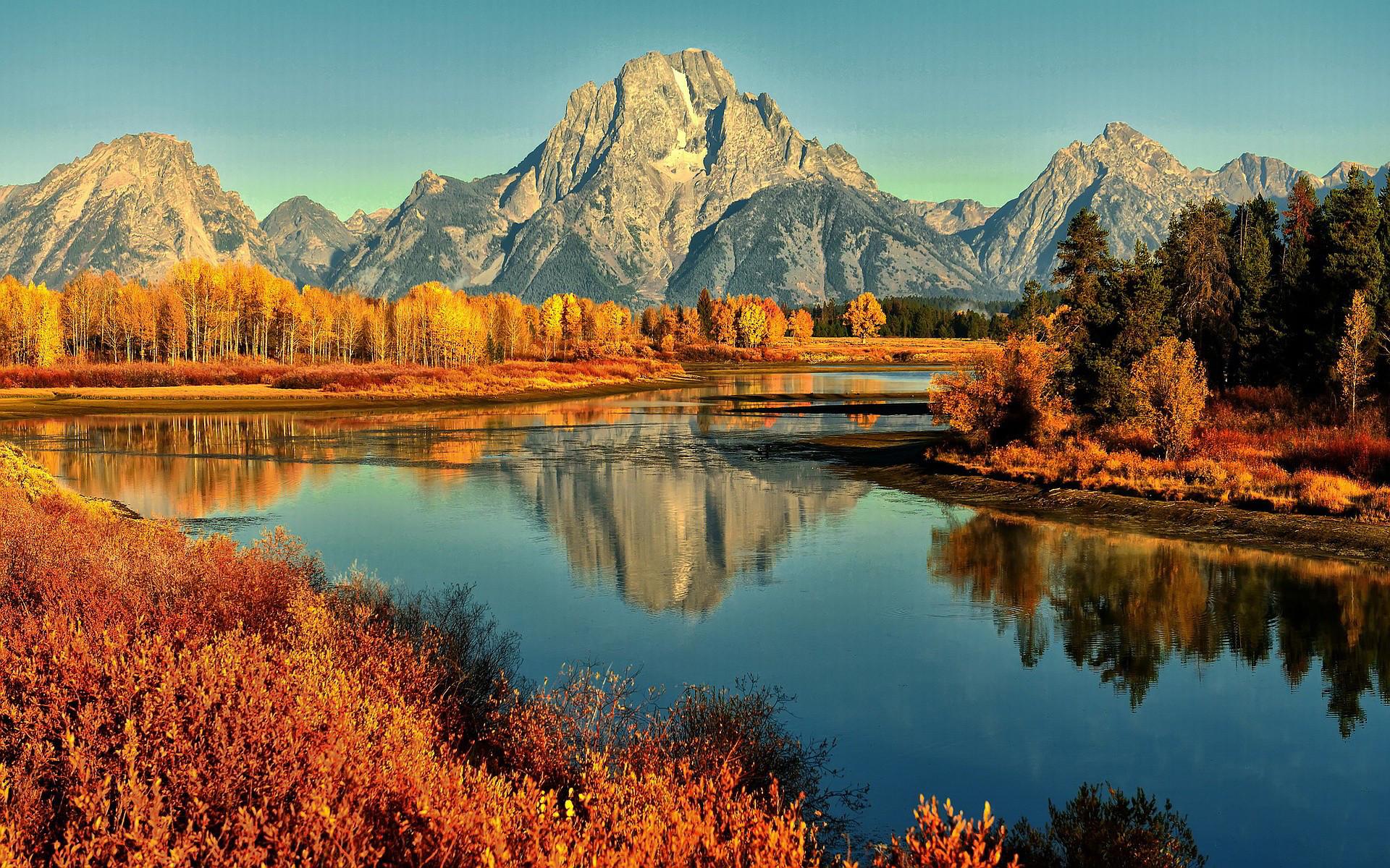 Mountain lake in Autumn Nature HD desktop wallpaper, Tree wallpaper,  Mountain wallpaper, Lake wallpaper, Autumn wallpaper – Nature no.