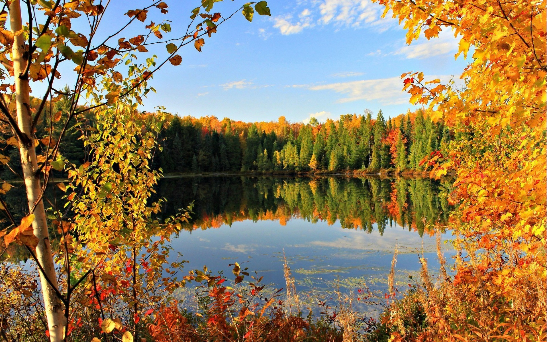 … lake fall wallpapers hd desktop and mobile backgrounds …