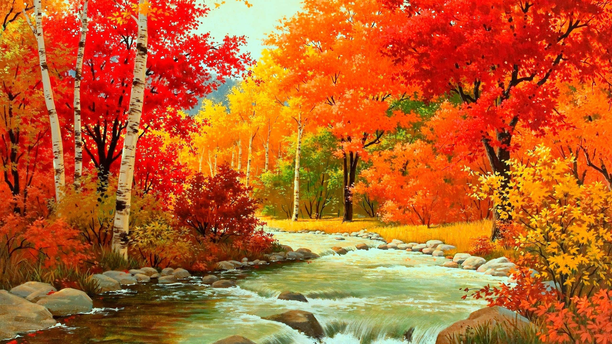Wallpapers For > Abstract Autumn Wallpaper Hd