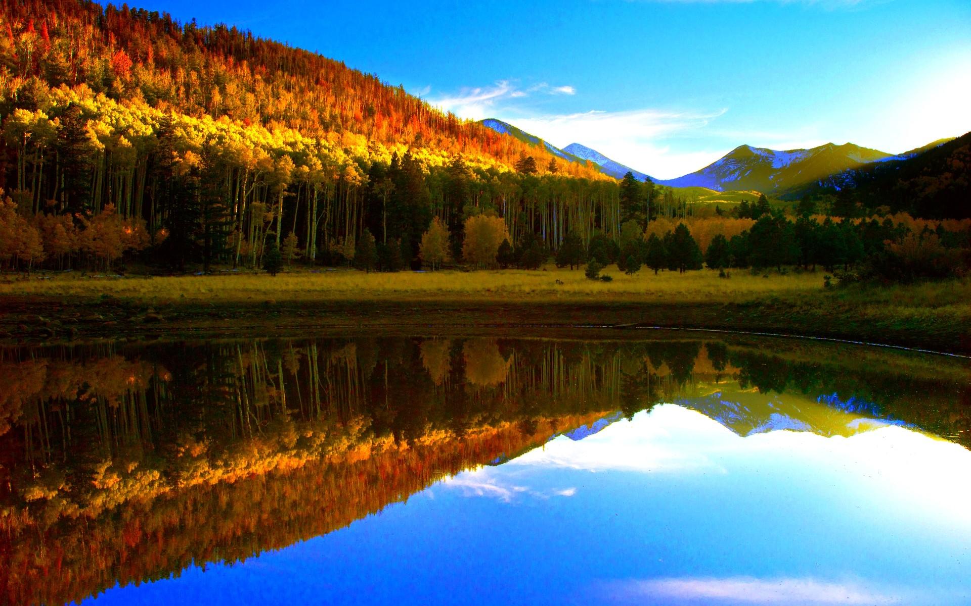 Fall Lake Wallpaper HD