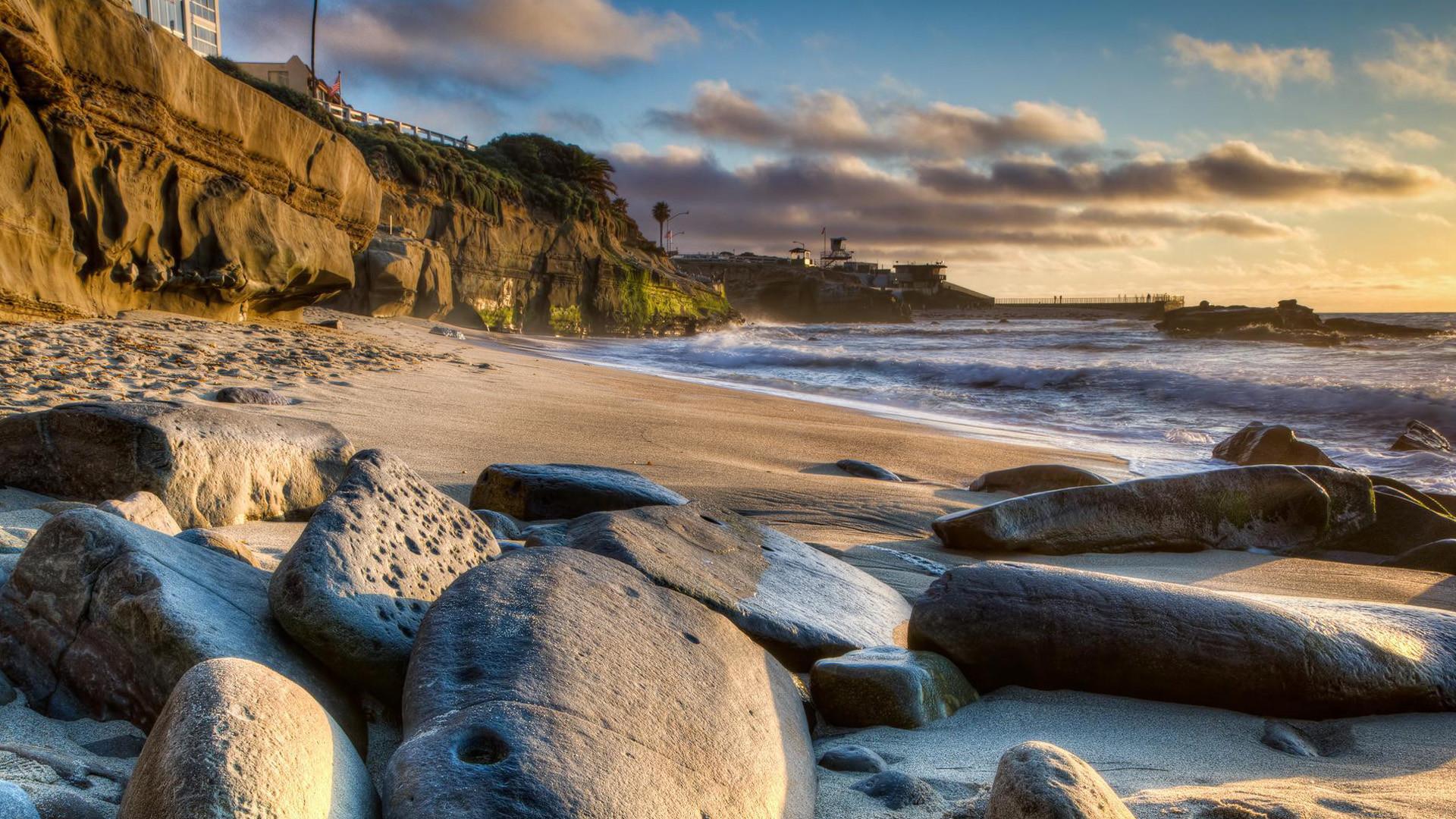 San Diego Beach Desktop Wallpaper 14116