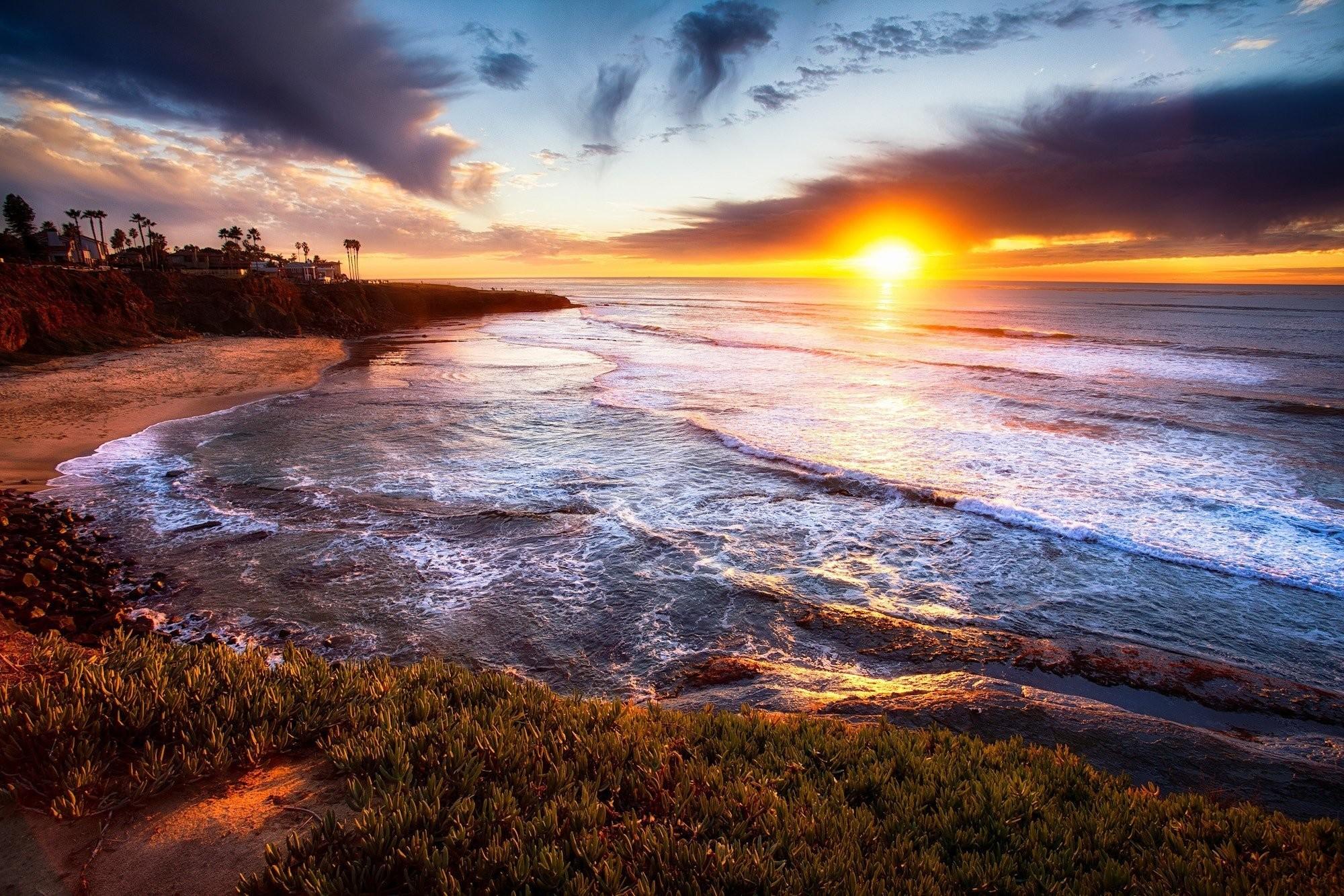 San Diego California sunset landscape wallpaper | | 291354 |  WallpaperUP