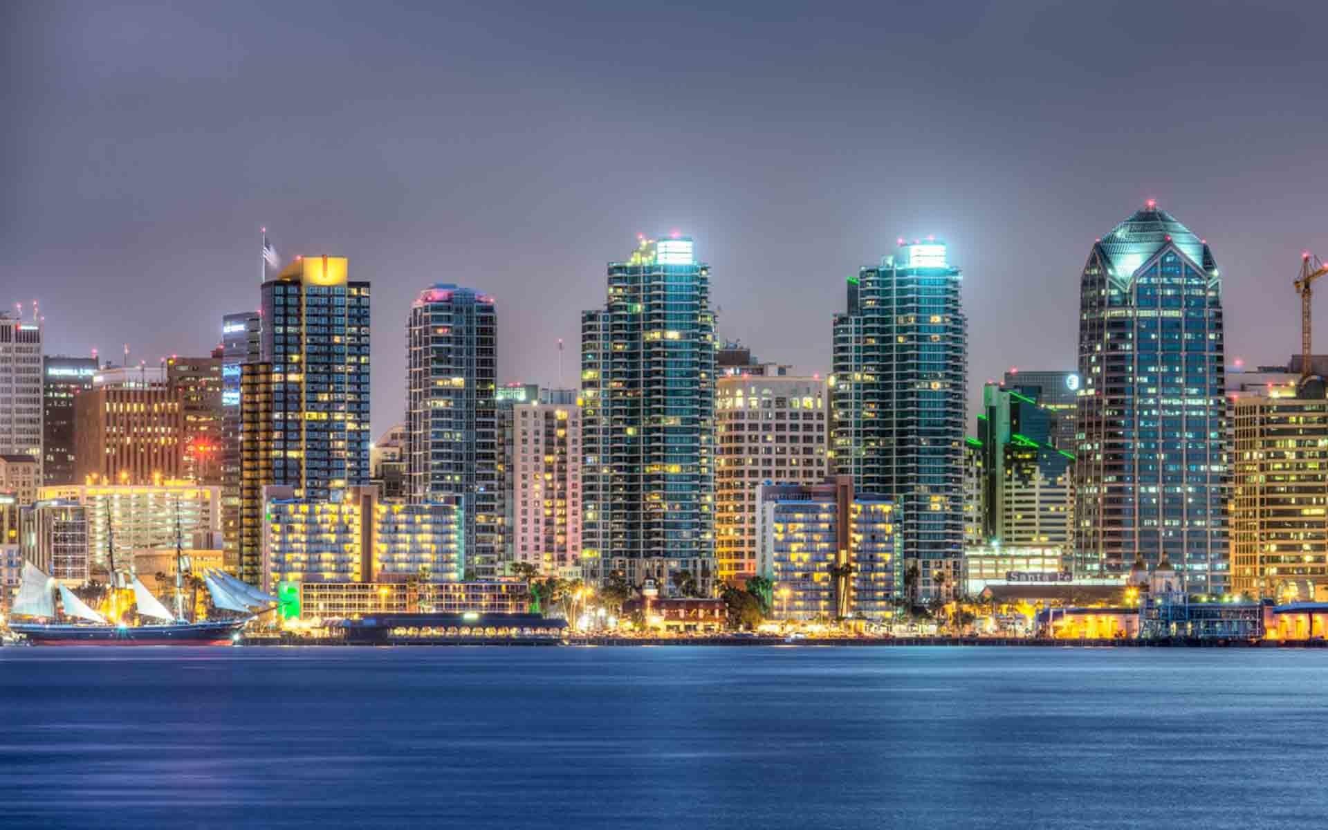 San Diego Skyline Wallpapers Â« Beach & Travels Â« HD Wallpapers