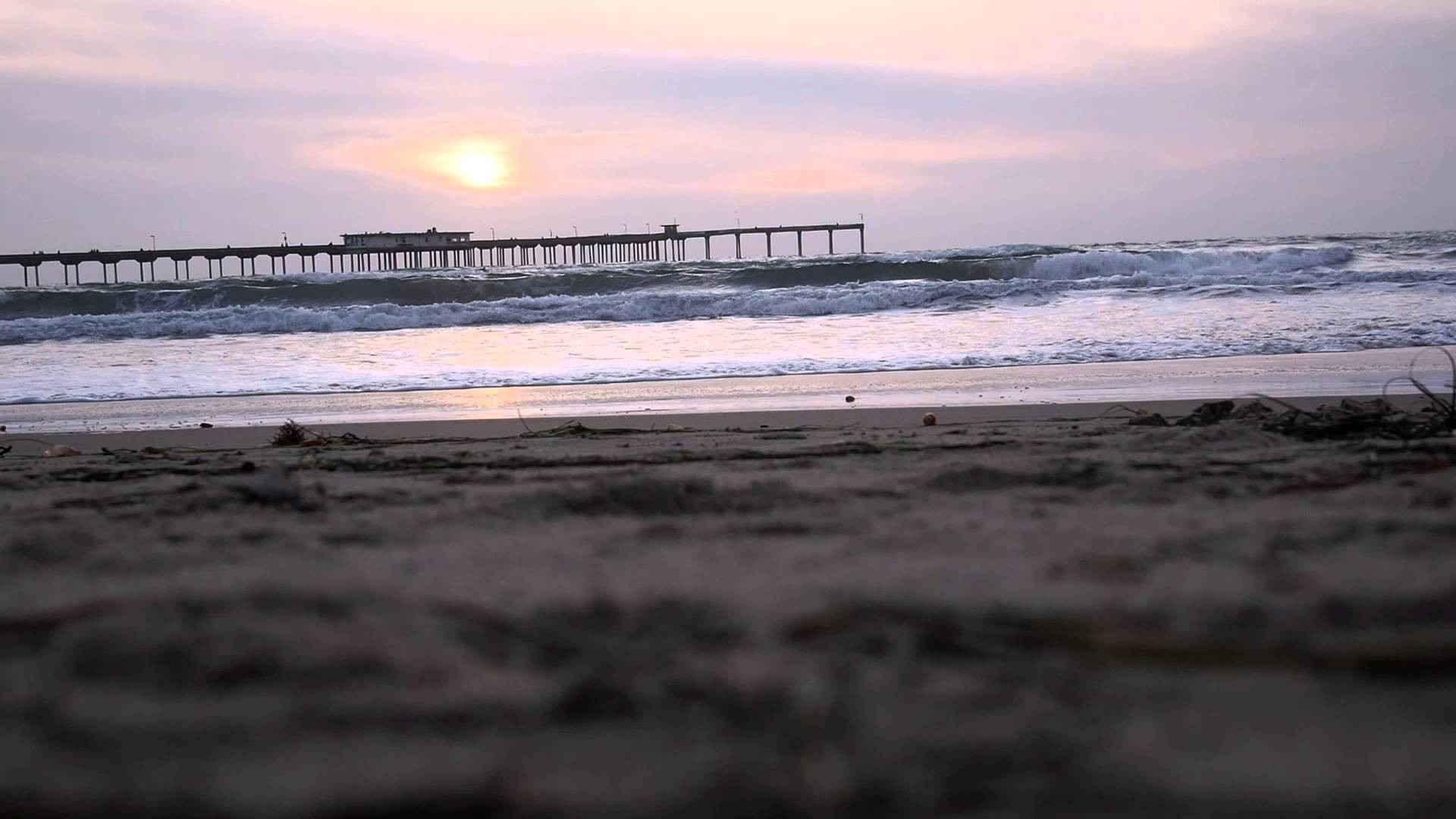 Sunset and Sounds of Ocean Beach, San Diego