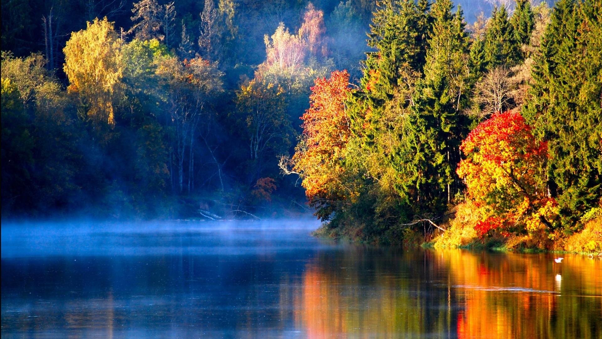 Beautiful River Nature Desktop Wallpapers