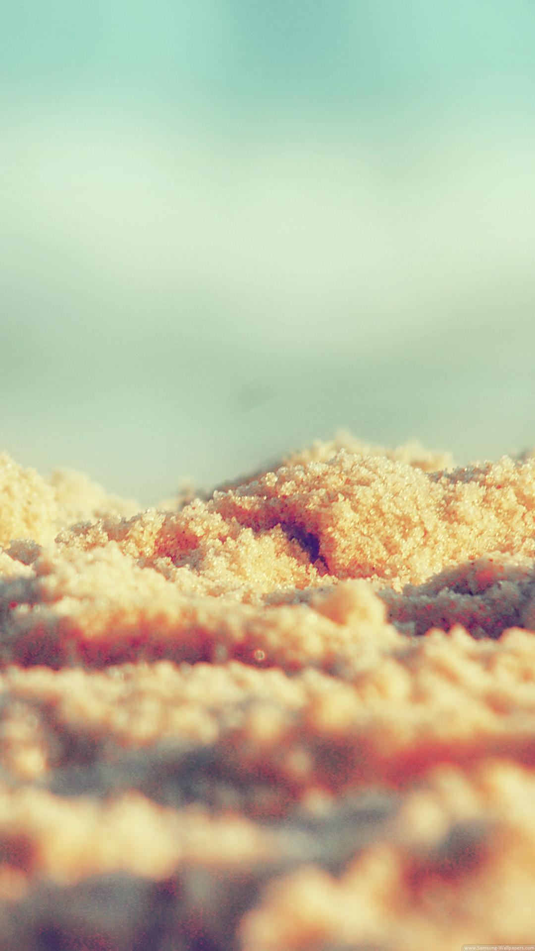 Beach Sand Texture Close-up iPhone 6 Plus HD Wallpaper …