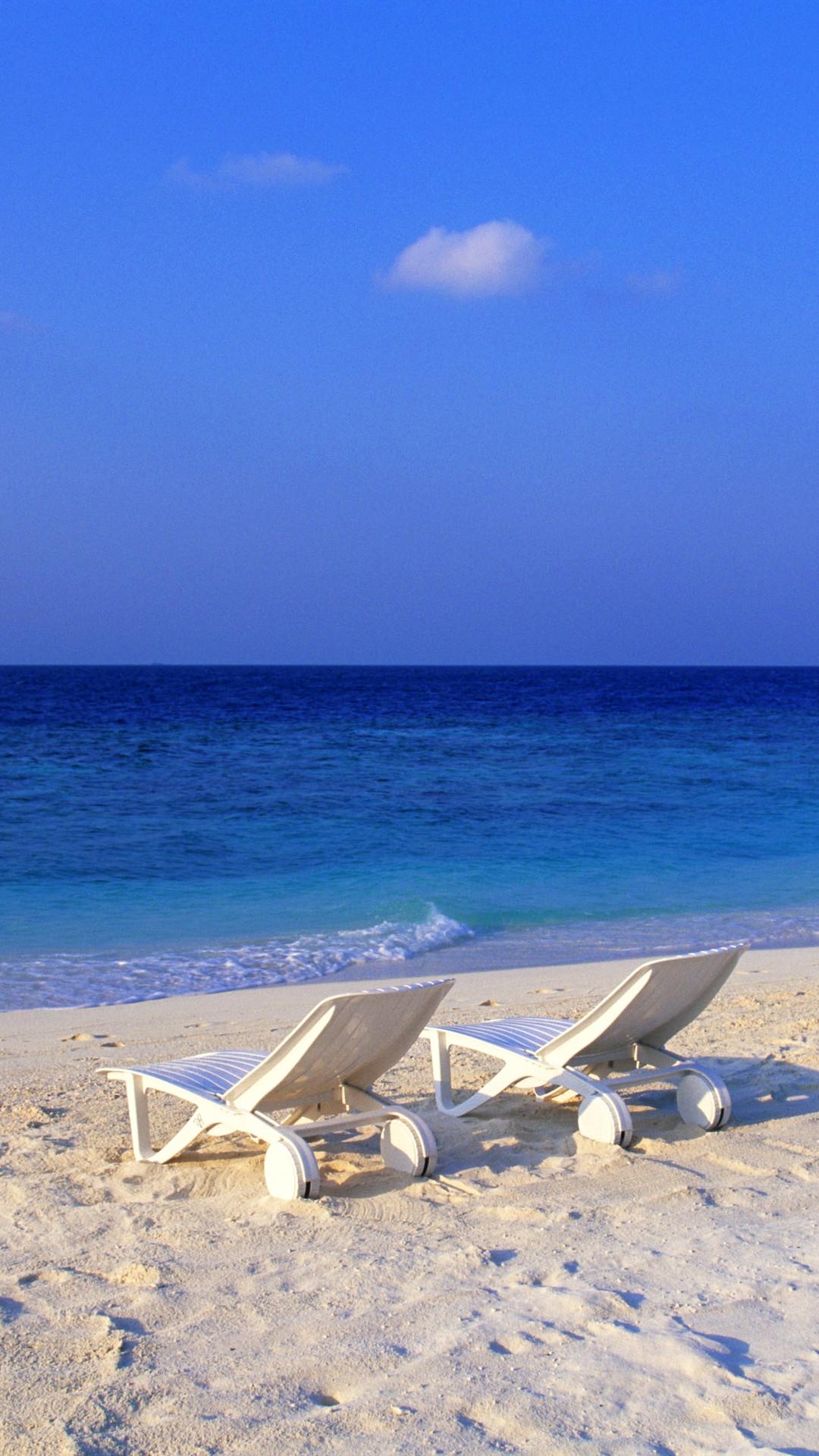 Beach View Barbados iPhone 6 Plus HD Wallpaper …