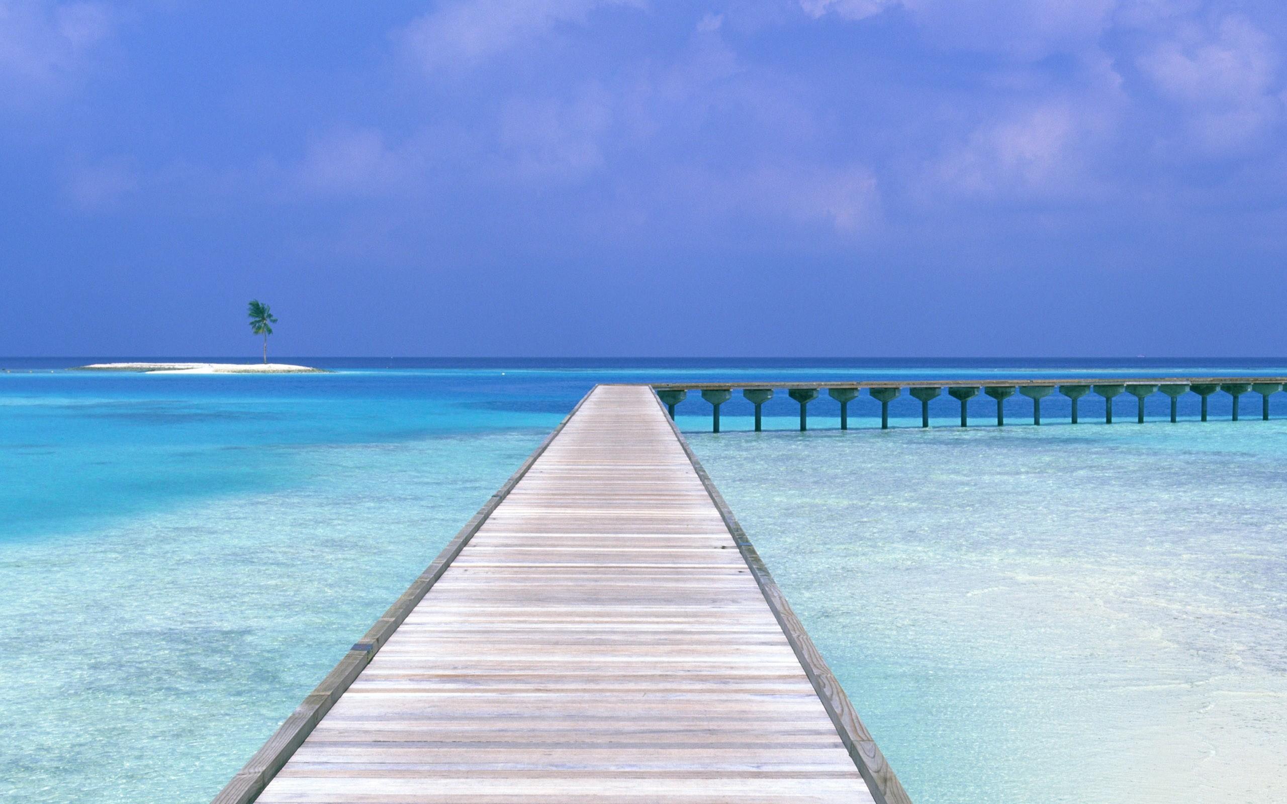 Beach Way Iphone Panoramic Wallpaper HD Pic