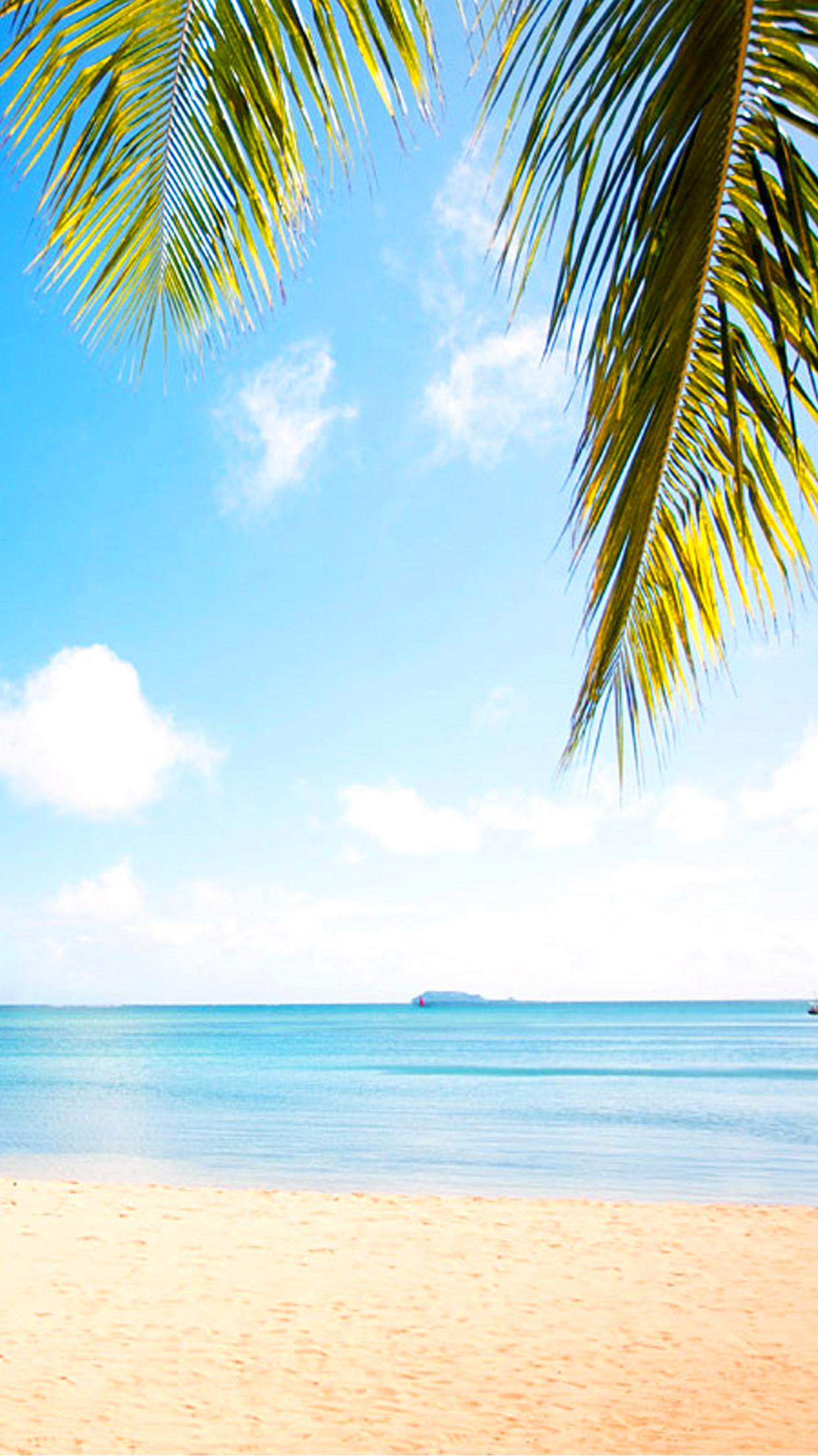 Wallpaper HD iPhone Mauritius beach paradise – Free Download