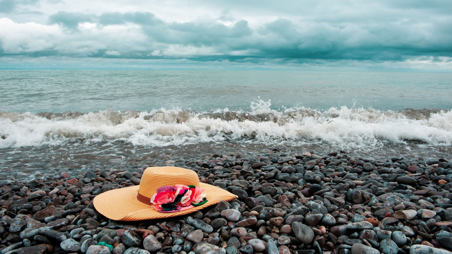Hat on beach [1920 x 1080] Need #iPhone #6S #Plus #Wallpaper/ #Background  for #IPhone6SPlus? Follow iPhone 6S Plus 3Wallpapers/ #Backgrounds Must t…