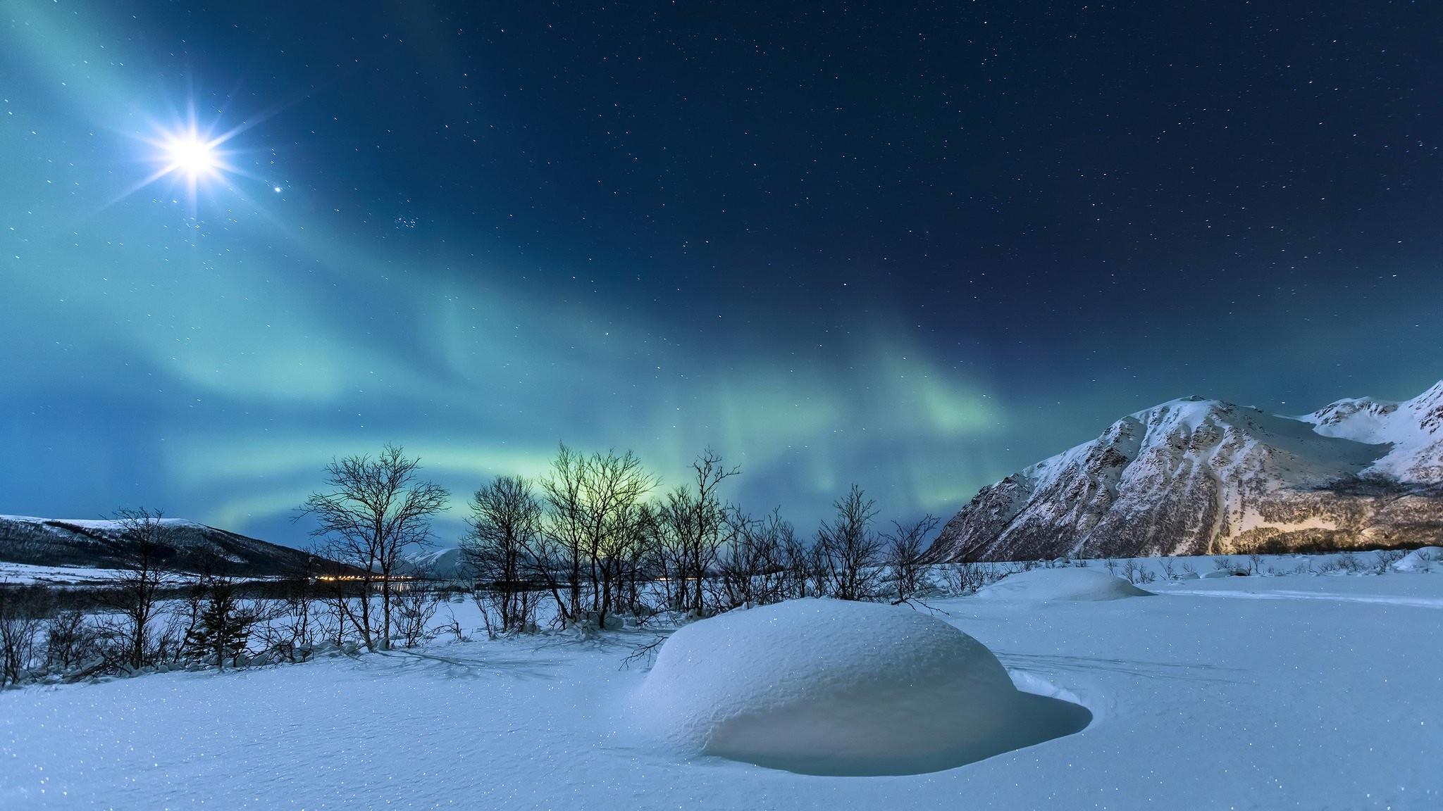 Norway Winter Night
