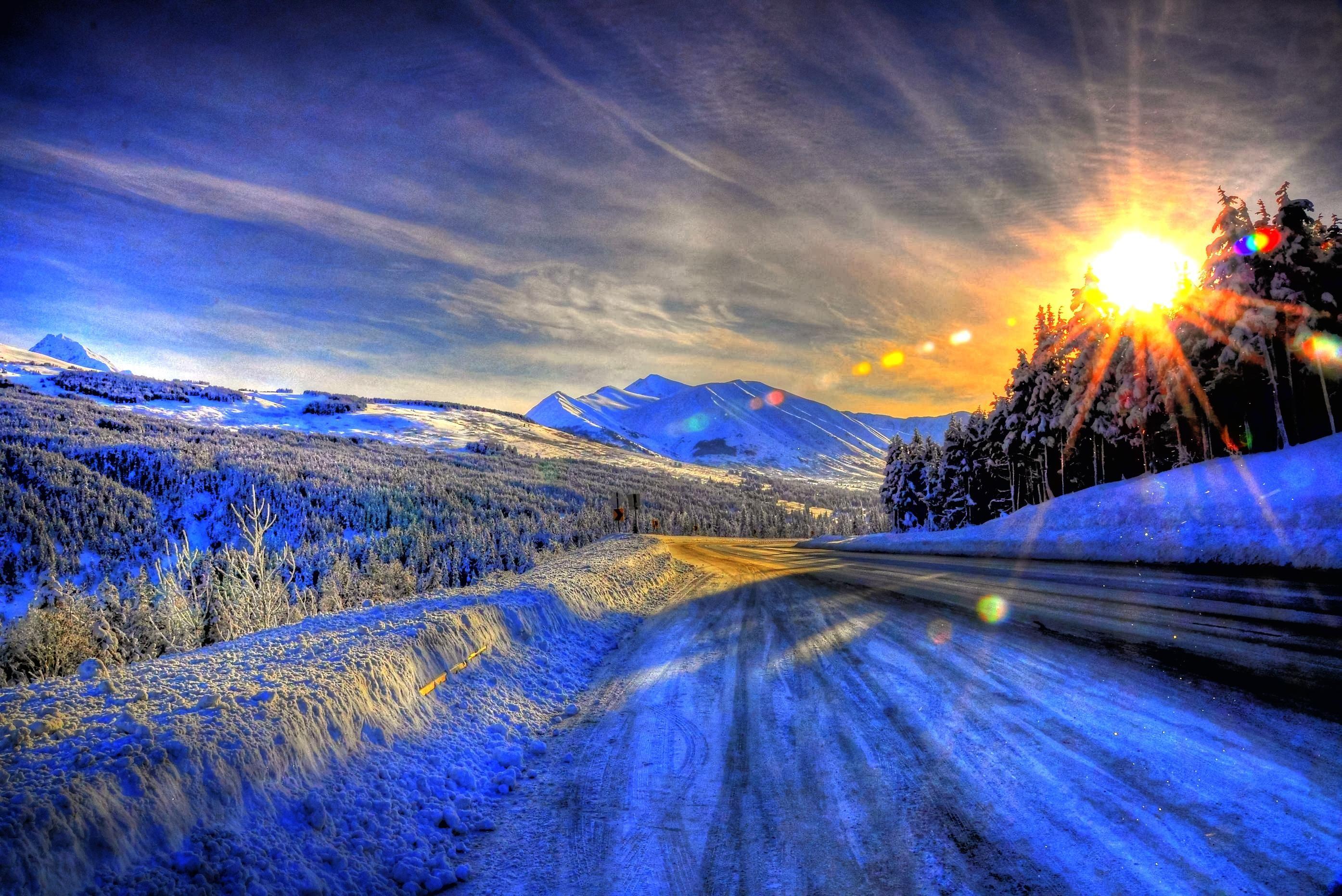 Alaska Winter Wallpaper