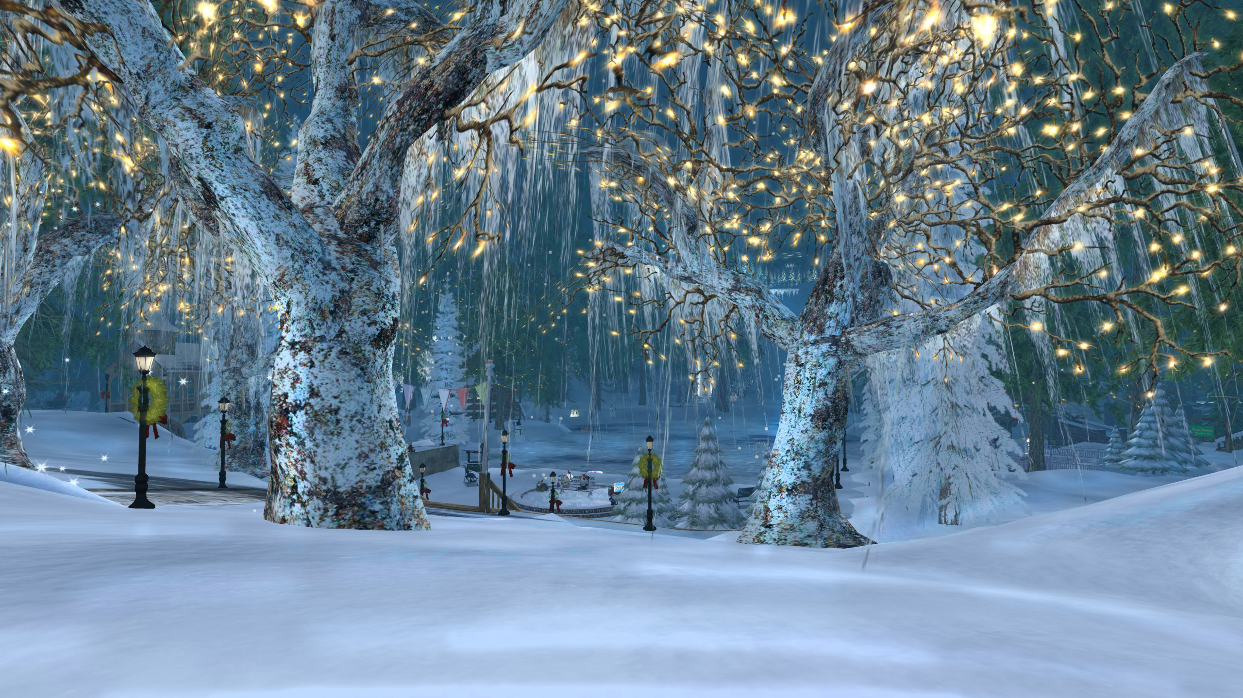 Winter Holiday Wallpapers (76 Wallpapers)
