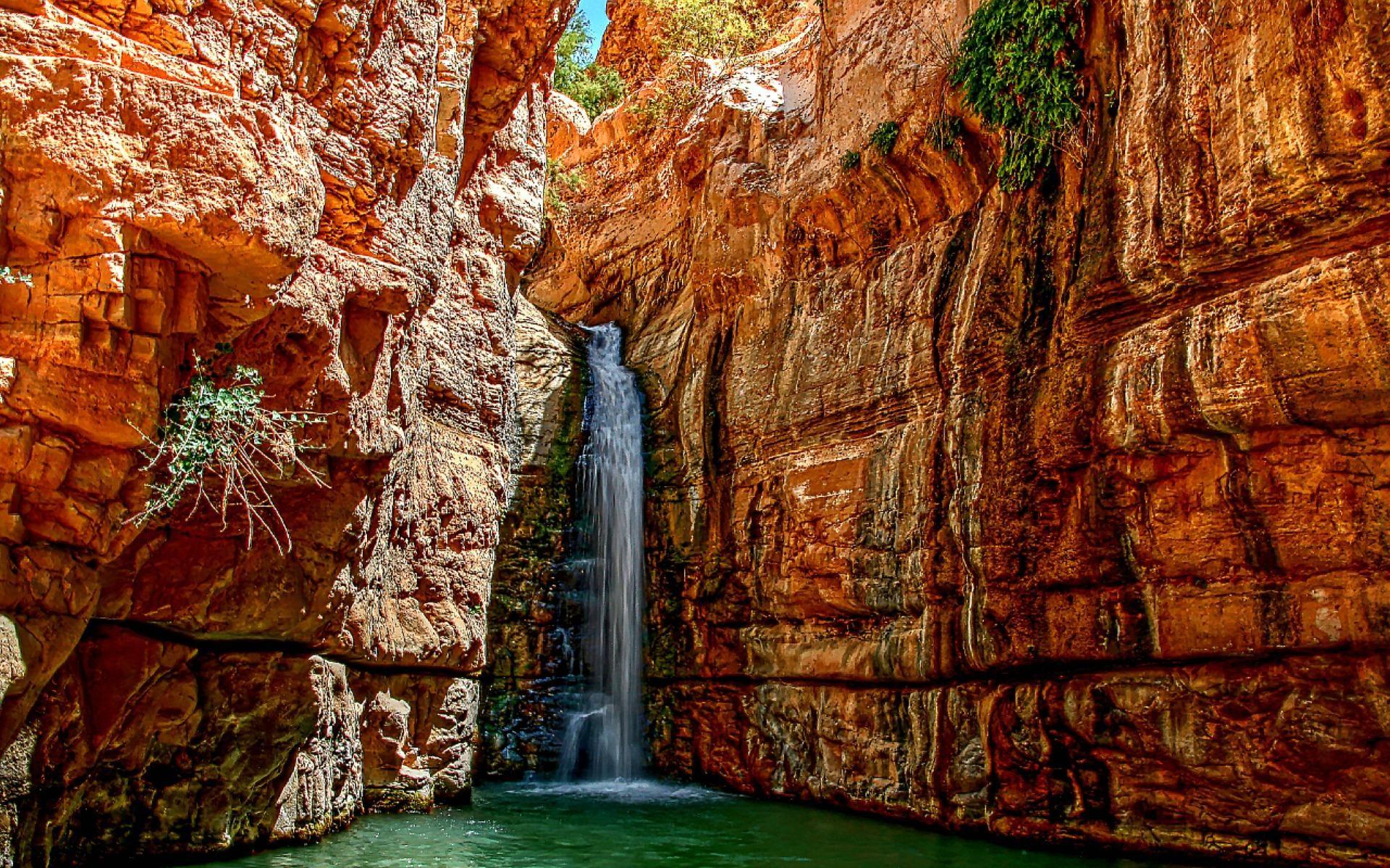 Jerusalem Waterfalls | Arugot River Waterfall Israel Nature hd wallpaper  #1806416