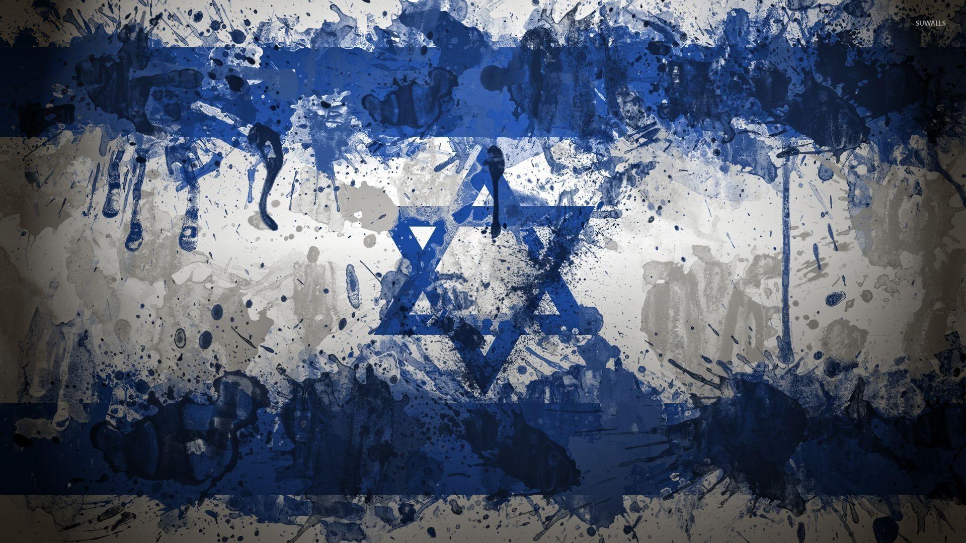 Flag of Israel wallpaper – Digital Art wallpapers – #28180