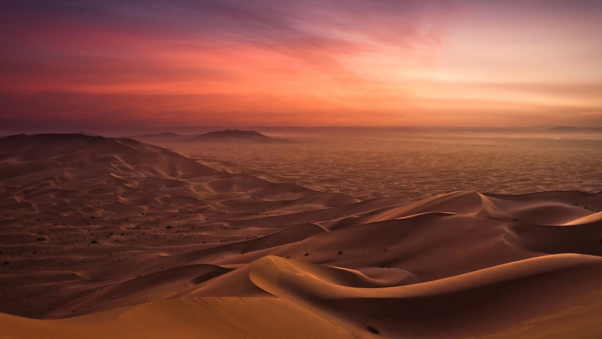 Spectacular Desert Scape Hd Desktop Background HD wallpapers