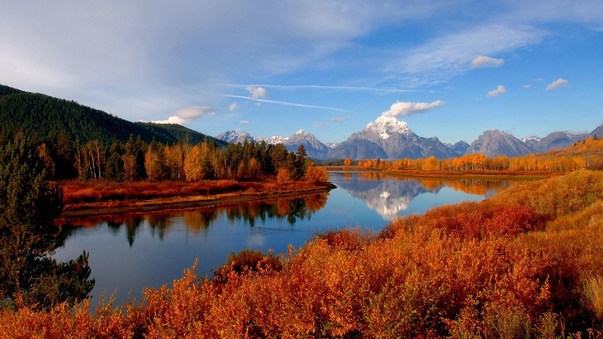 Autumn River HD Wallpaper PixelsTalkNet