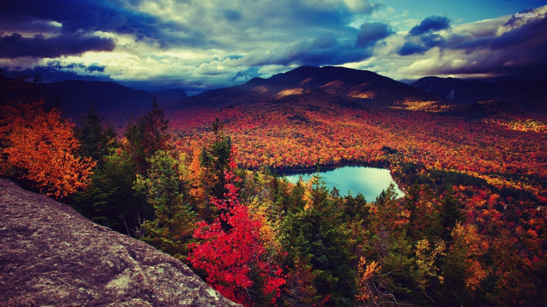 Fall Mountain Wallpapers Desktop Background with Wallpaper High Resolution  px 744.13 KB