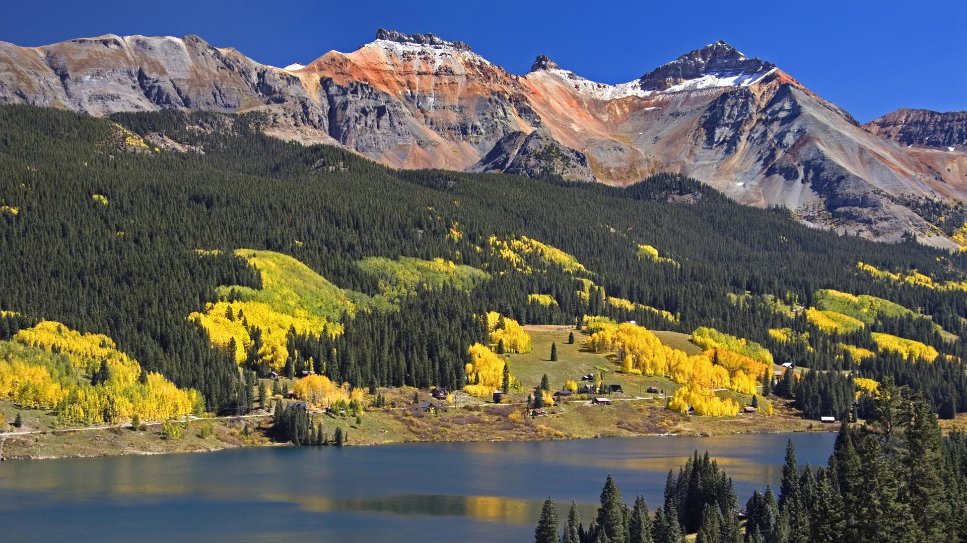 Fall Mountain Desktop, wallpaper, Fall Mountain Desktop hd wallpaper .