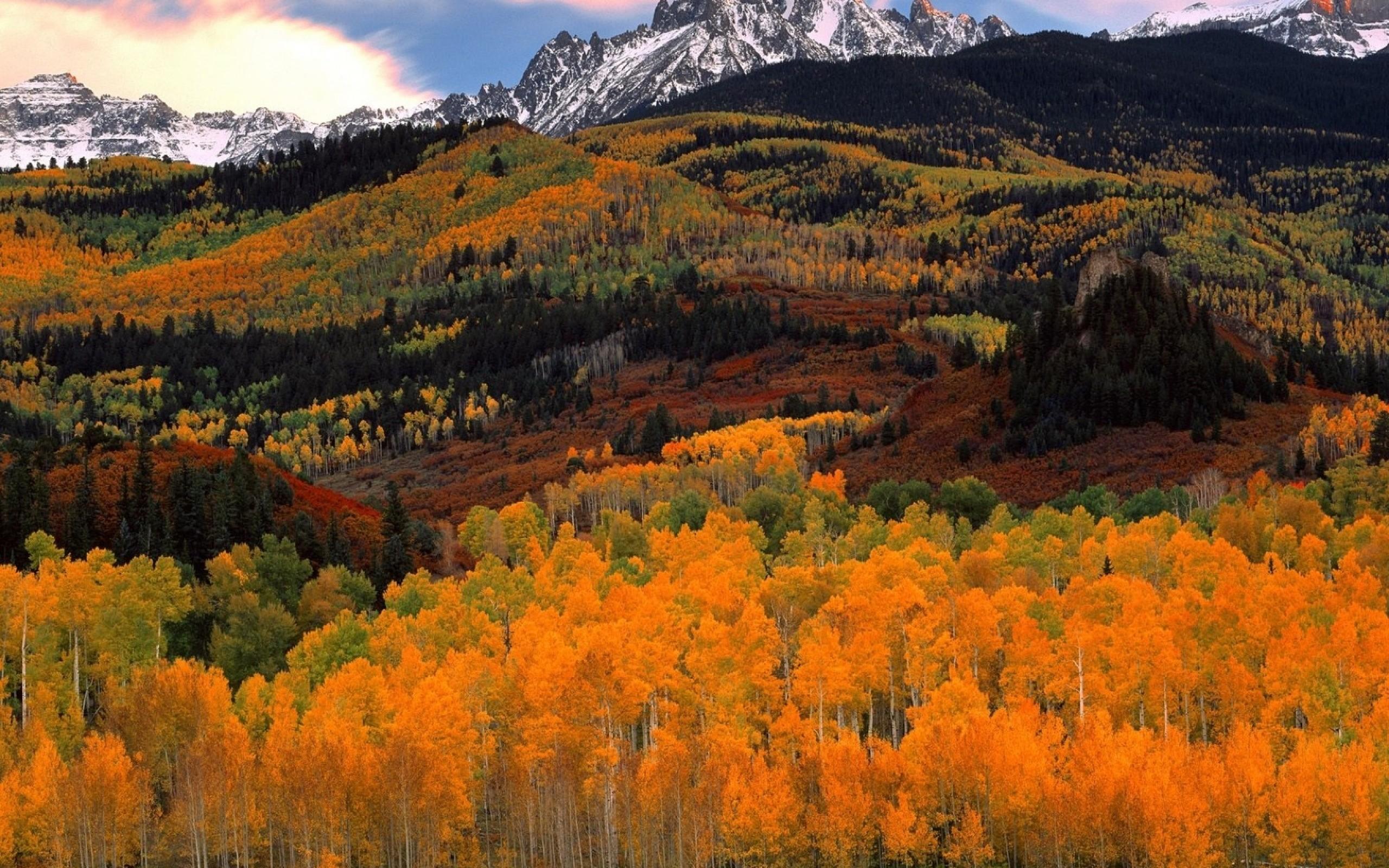 Autumn Mountain Wallpaper Hd