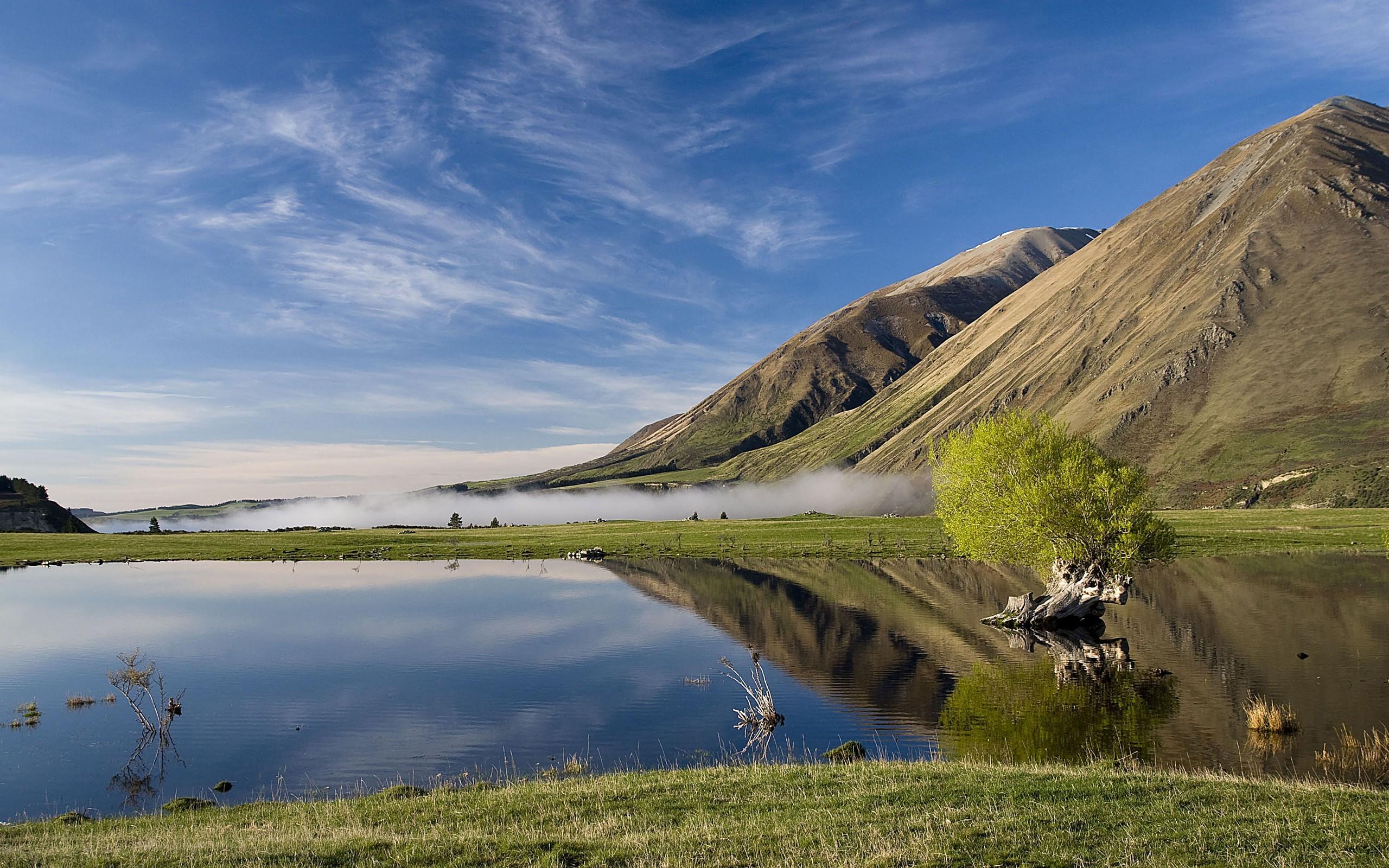 Beautiful lake scenery desktop PC and Mac wallpaper