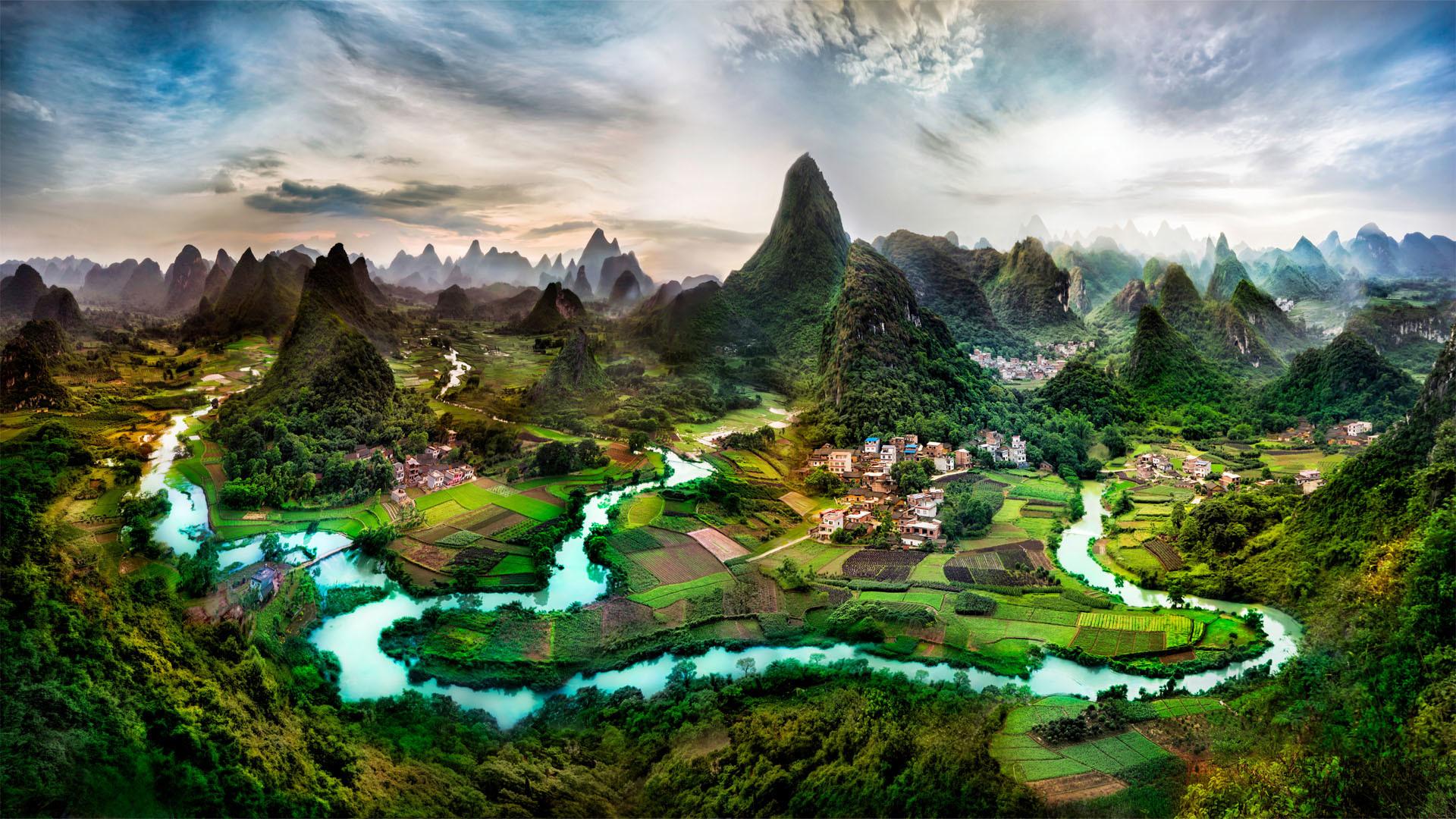 Beautiful Landscape Desktop Background