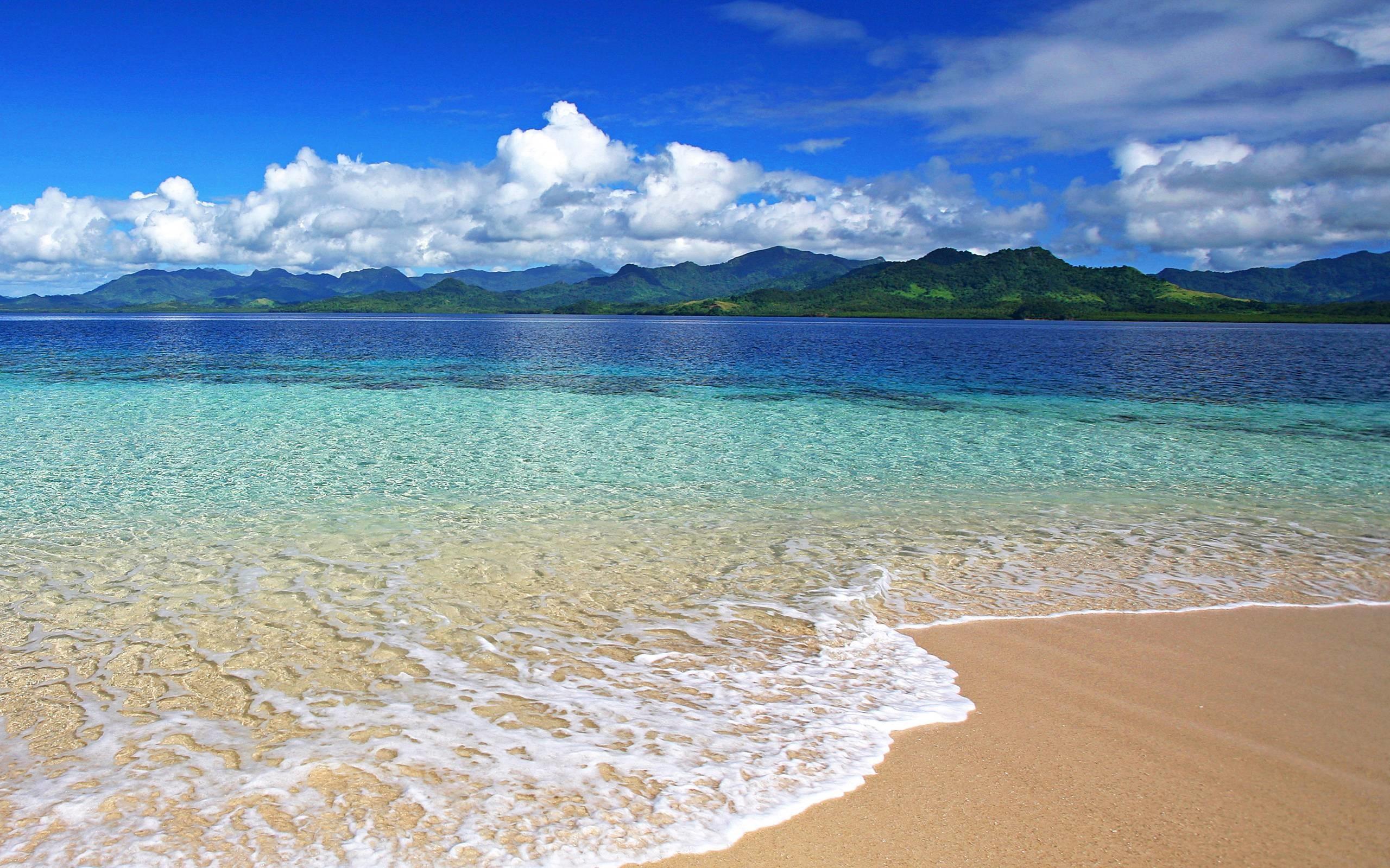 Fiji Beach Desktop Free HD Wallpaper – wallpaper source