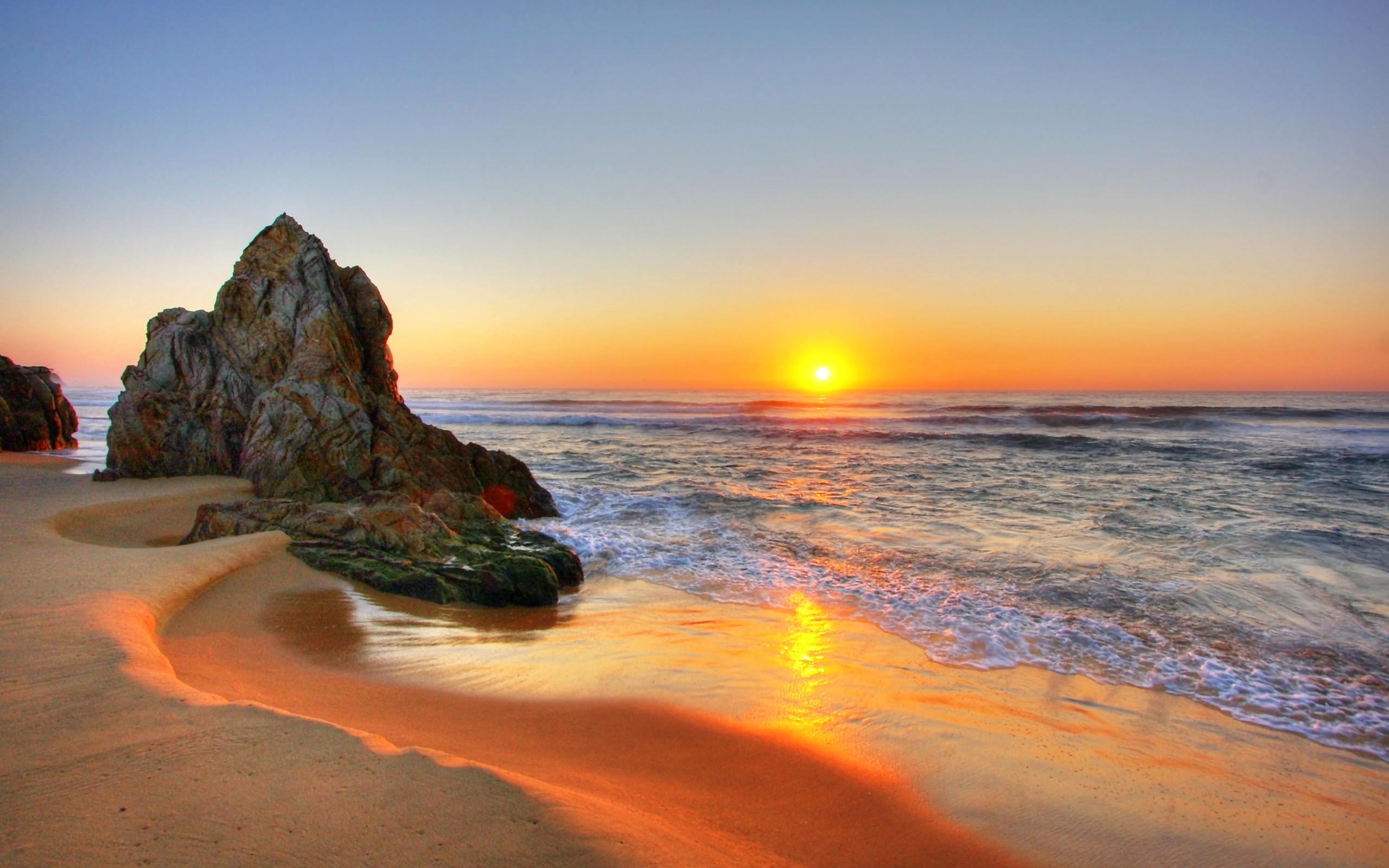 … The inspiring view of sunrise on Tathra Beach, Australia