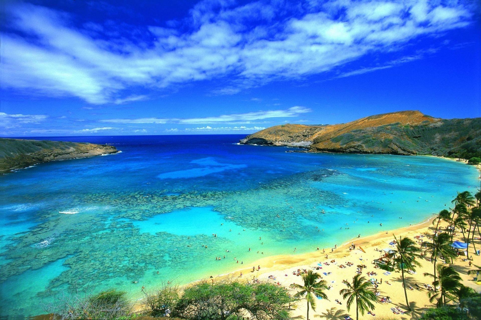 Cool summer beach paradise wallpaper hd