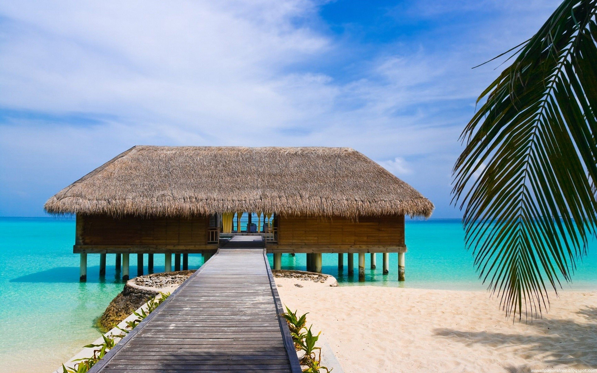 11 HD Beach Houses Wallpapers Widescreen Desktop Backgrounds