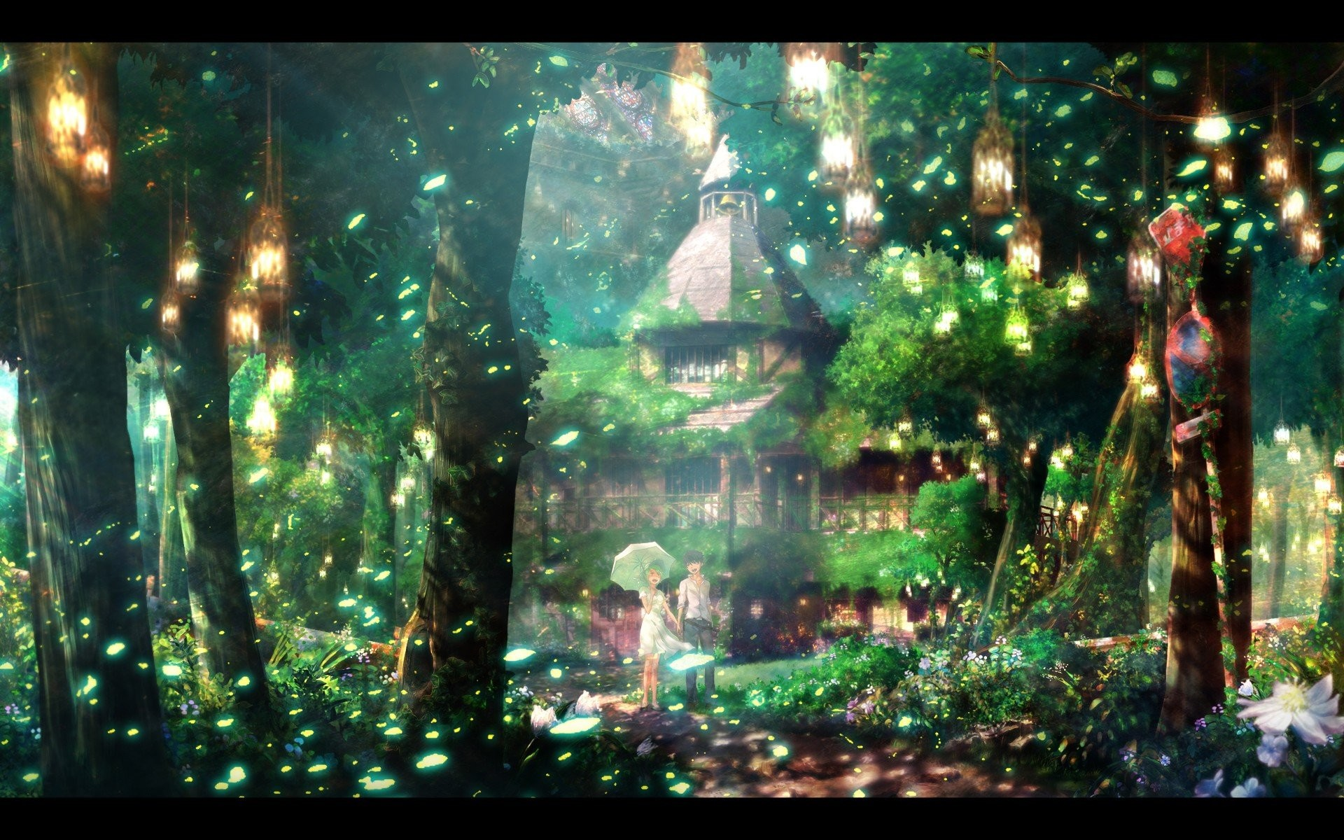 Scenic Anime Backgrounds 588425