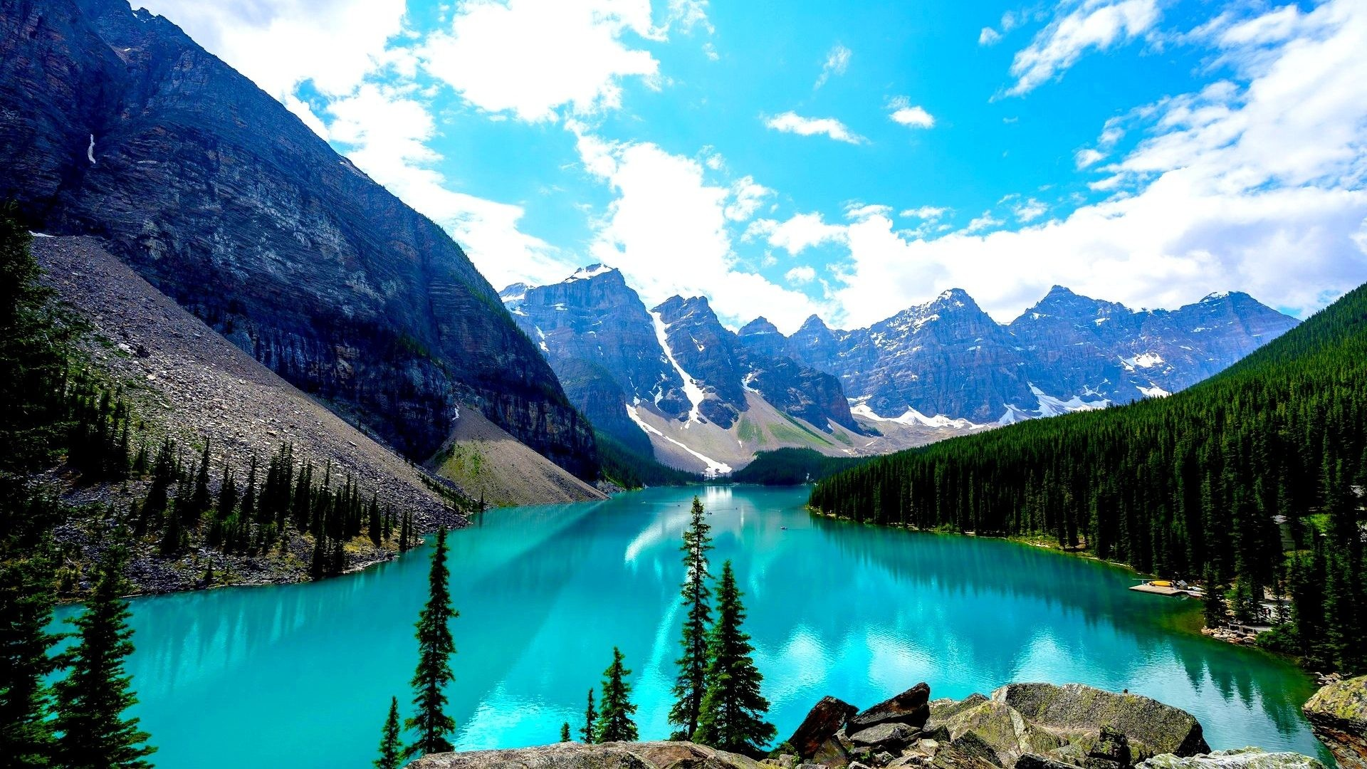 BANFF NATIONAL PARK CANADA Scenery Scenic Wallpaper Background Free Detail