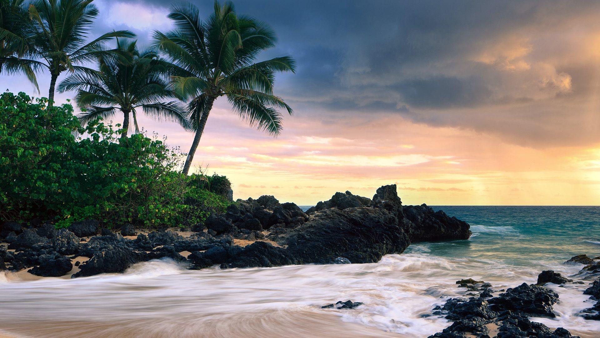 Hawaii Beach Wonderful Fhd Wallpaper