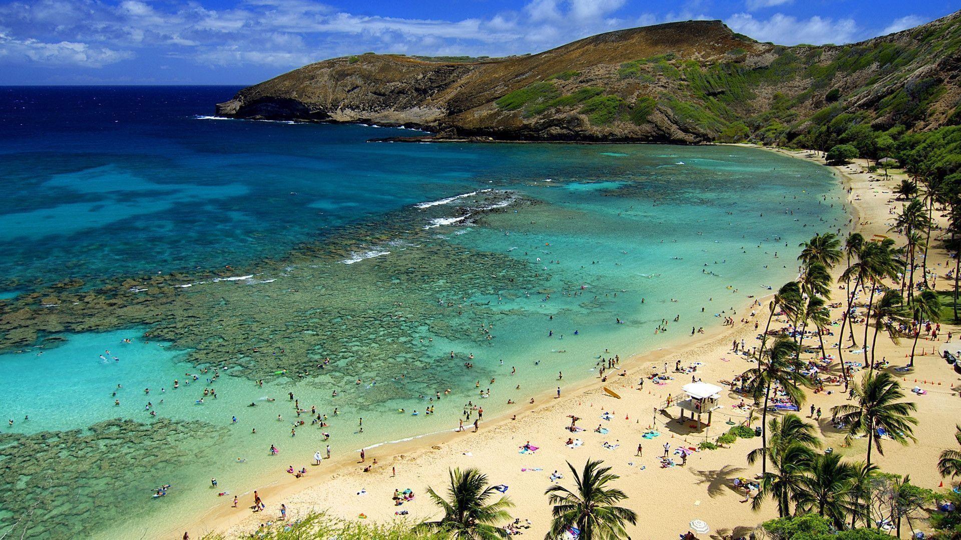 Afternoon Hawaii Beach Wallpaper Wide #13126 Wallpaper | Wallpaper .