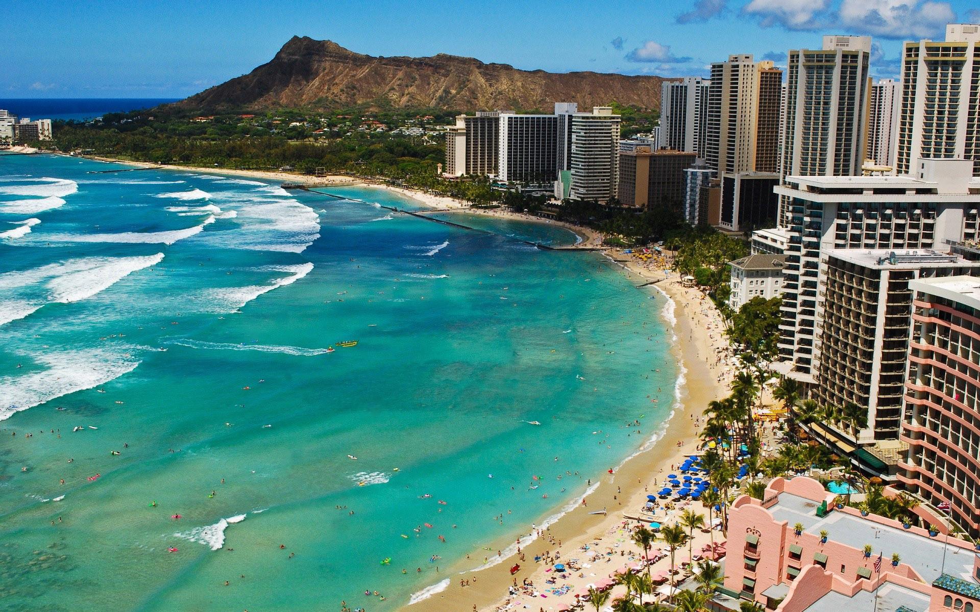 Waikiki Beach wallpaper #10121