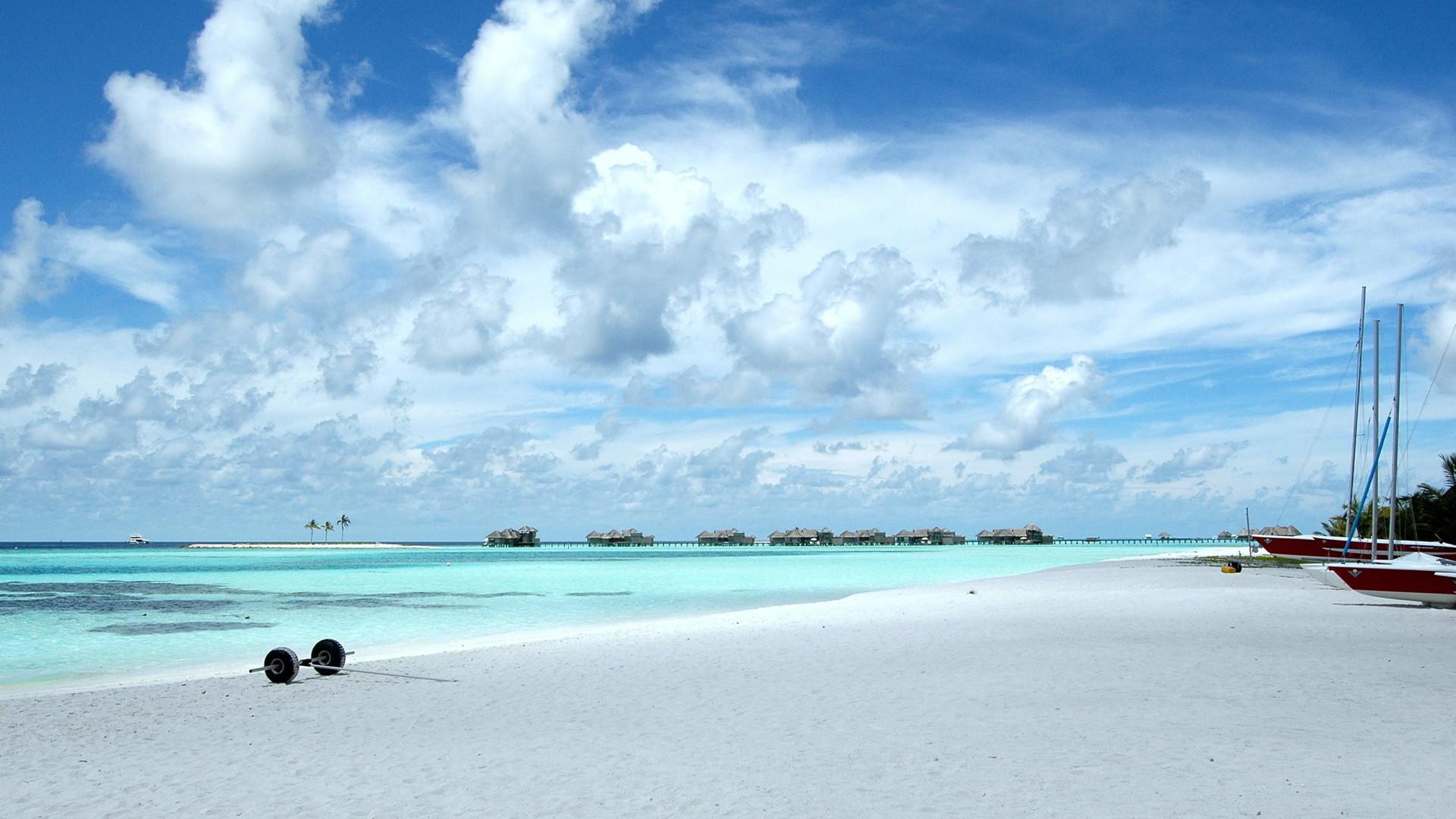 Panoramic Beach Wallpapers Background