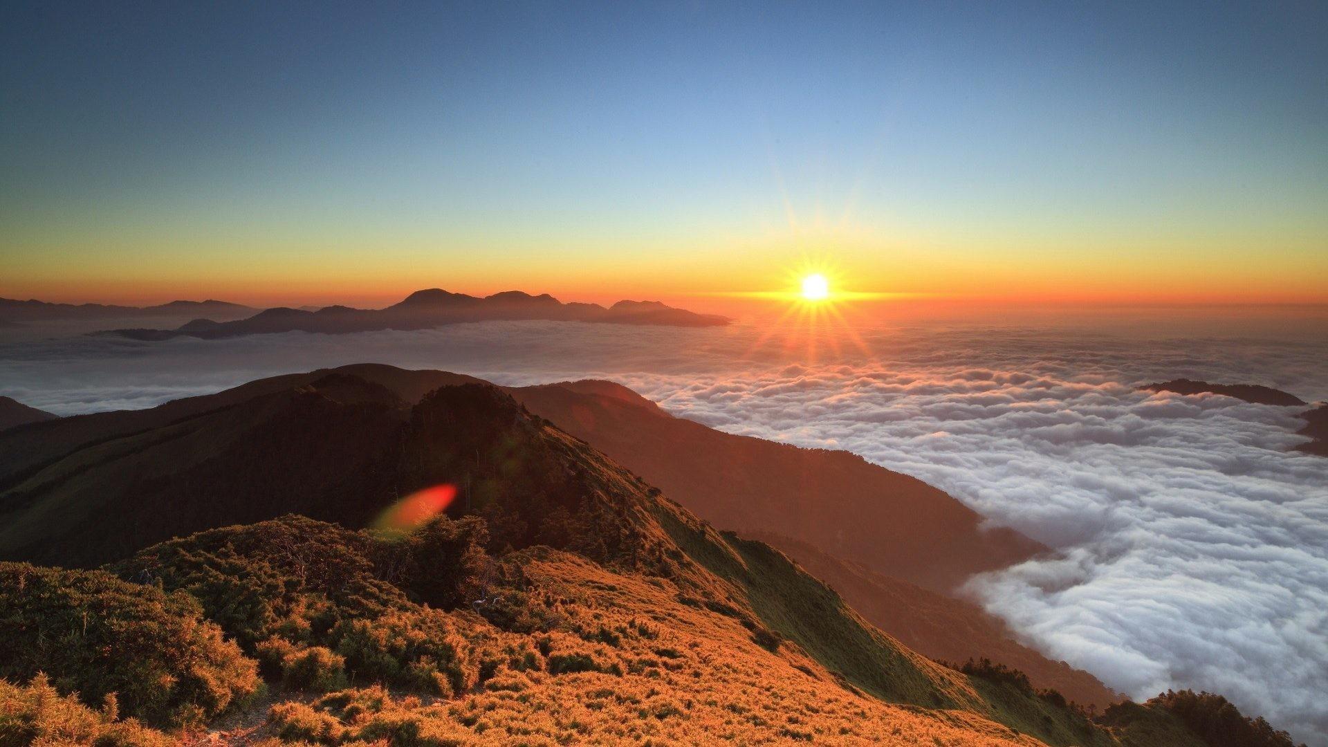 Panorama Tag – Glorious Mountains Panorama Awesome Spiritual Beach Orange  Sunset Majesty Blue Nature Sunsets Twilight