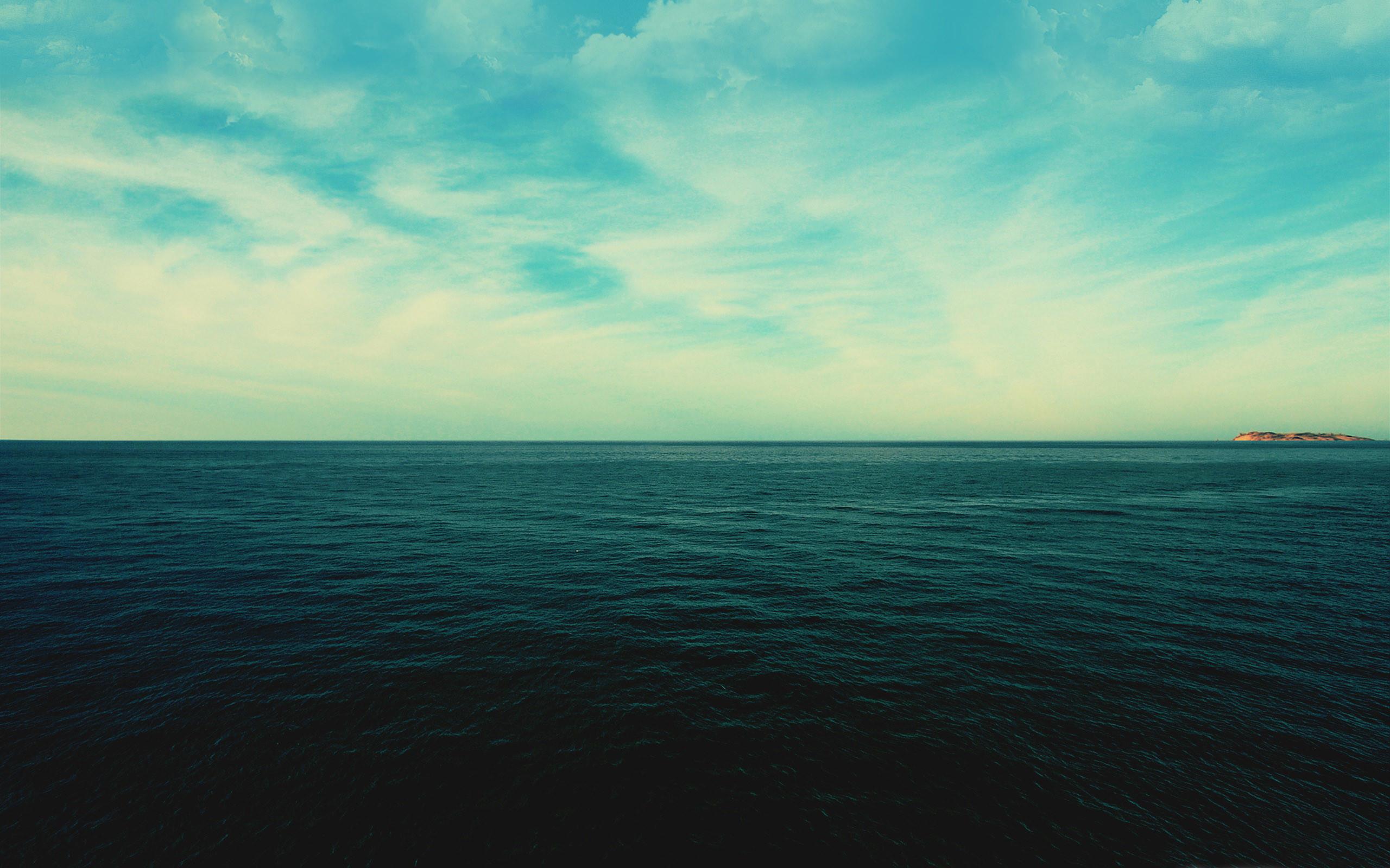 Sea horizon iPhone Panoramic Wallpaper