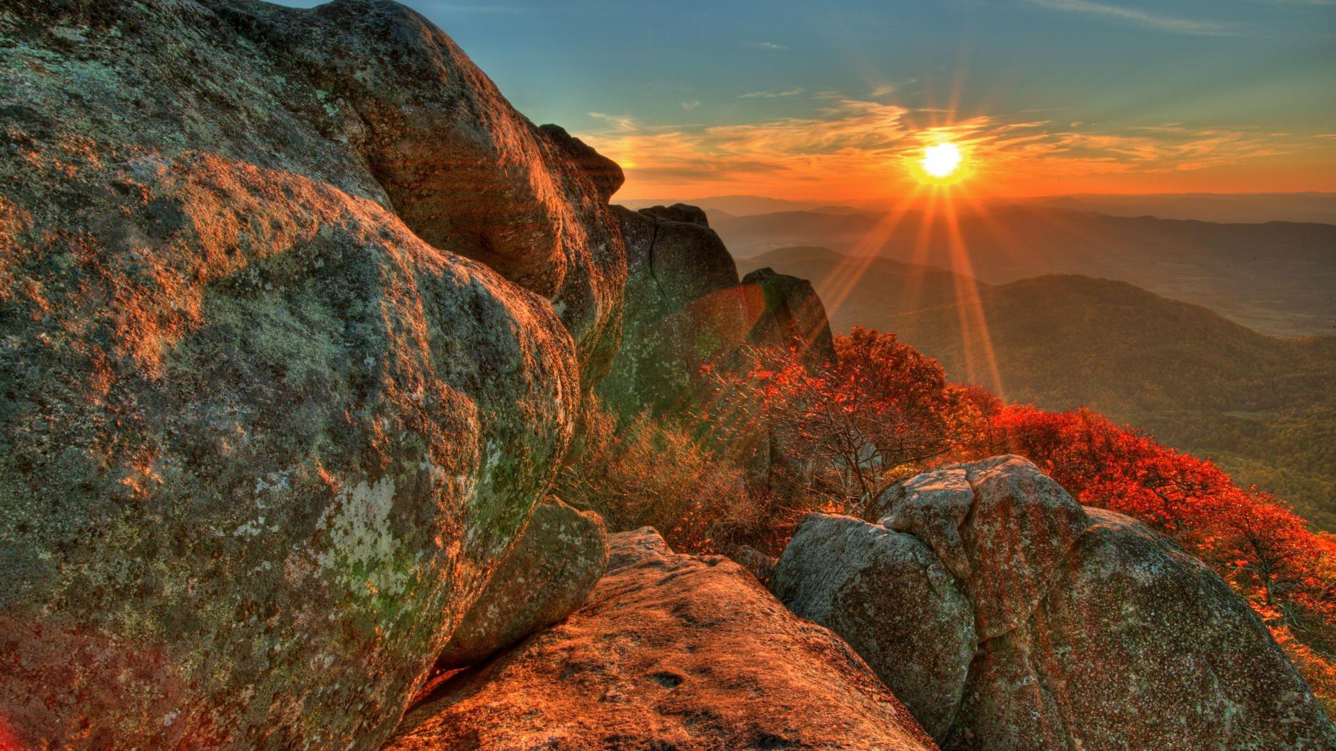 Beautiful Sunrise Mountains – wallpaper.