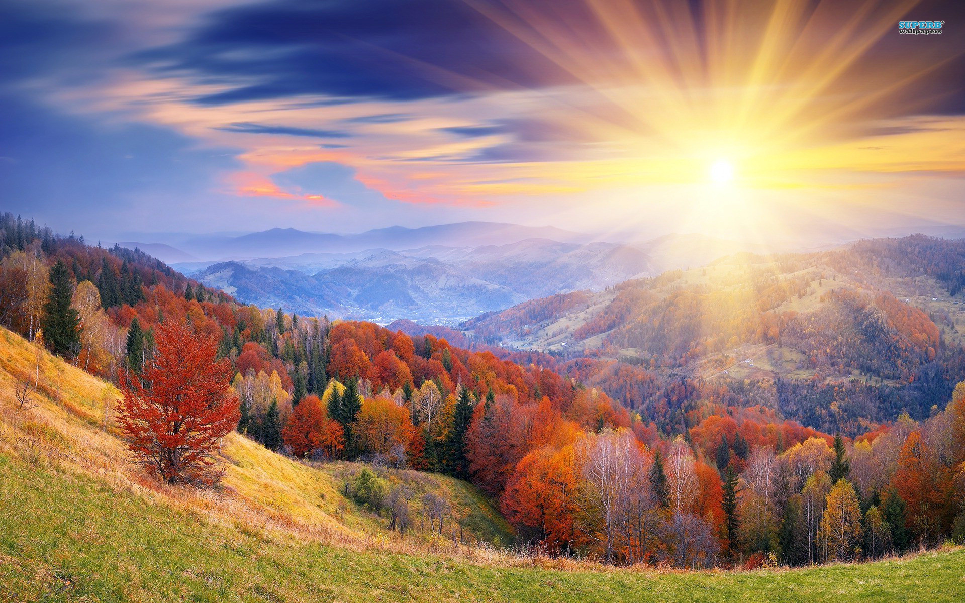 Sunrise Wallpapers – The most beautiful scenery in the world .