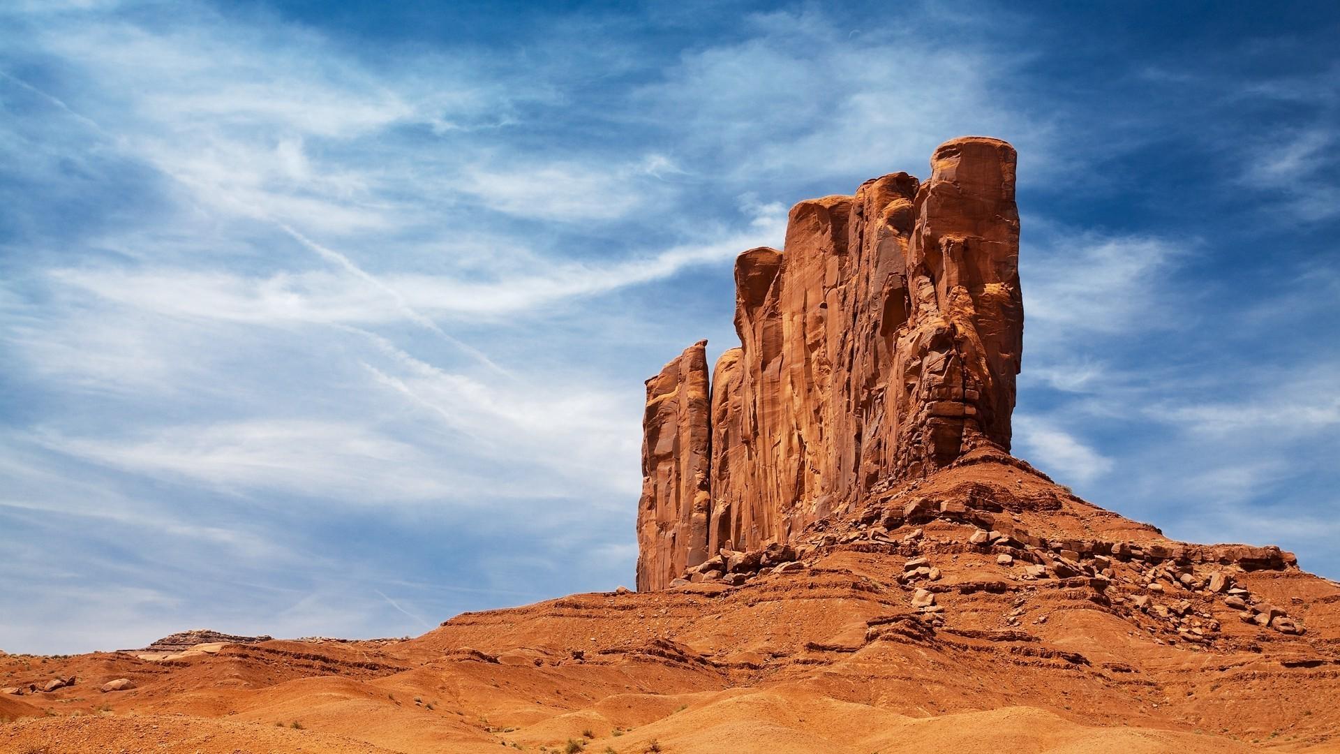 nature, Landscape, Desert, Rock, Sandstone, Sand, Rock Formation, Arizona  Wallpapers HD / Desktop and Mobile Backgrounds