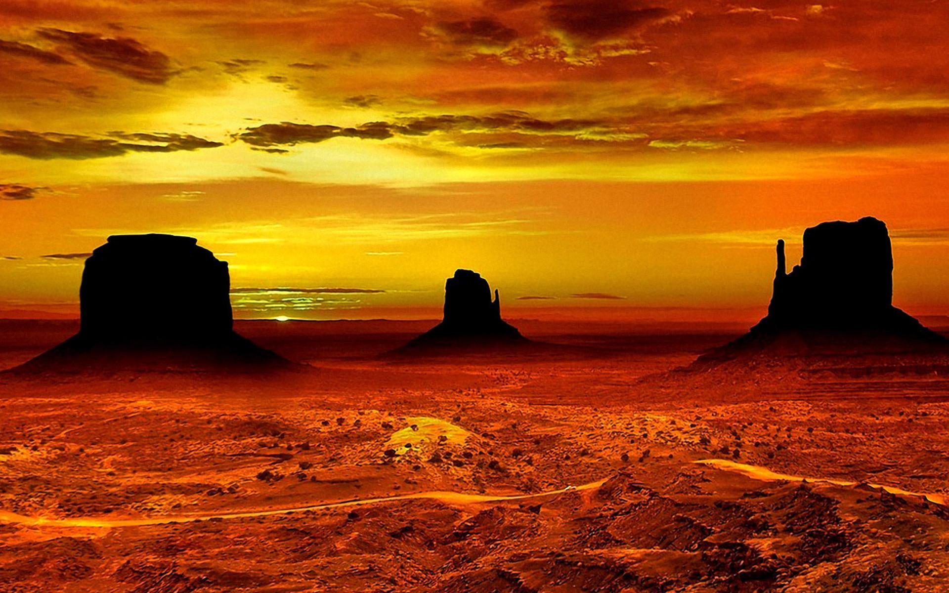 Desert Wallpapers for Widescreen Desktop PC 1920×1080 Full HD