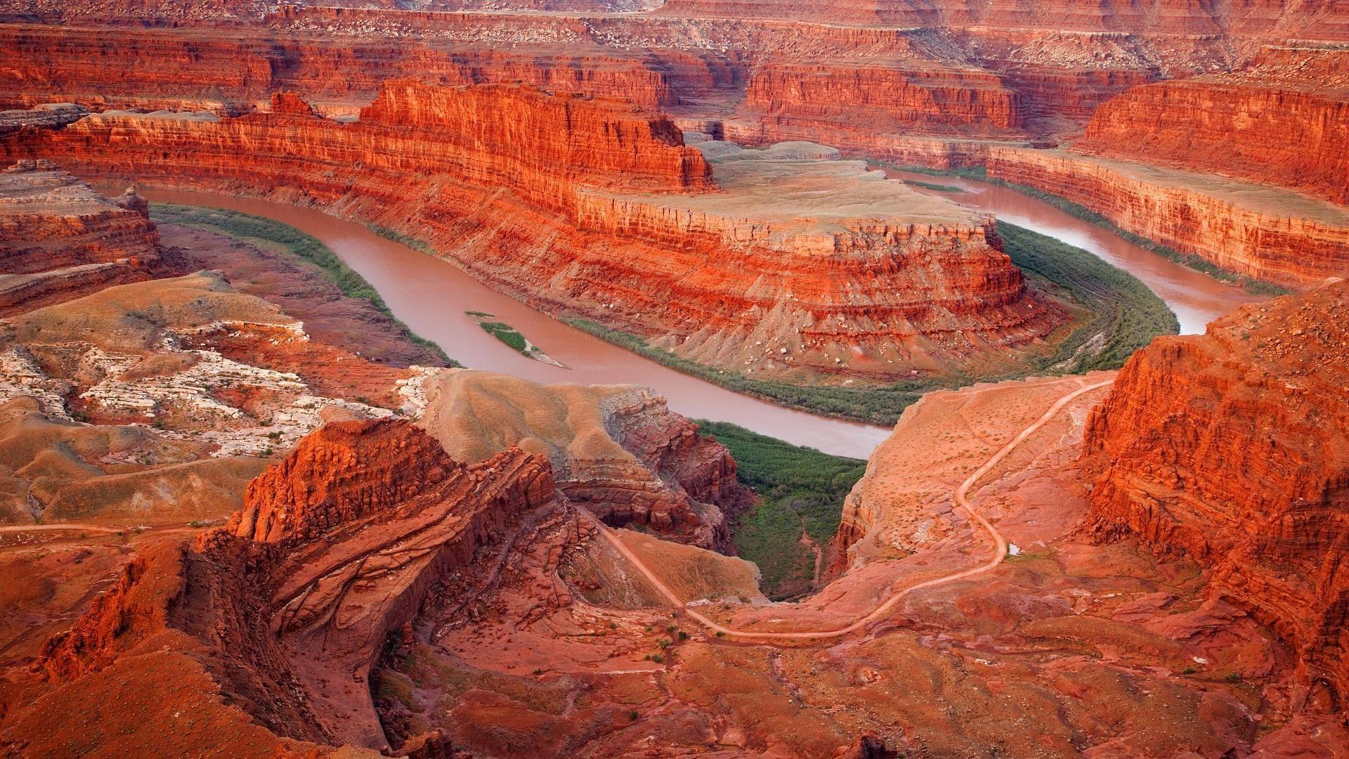 Desert – Canyon Bend Dessert Usa Arizona Utha Great Places HDR Wallpaper  for HD 16:
