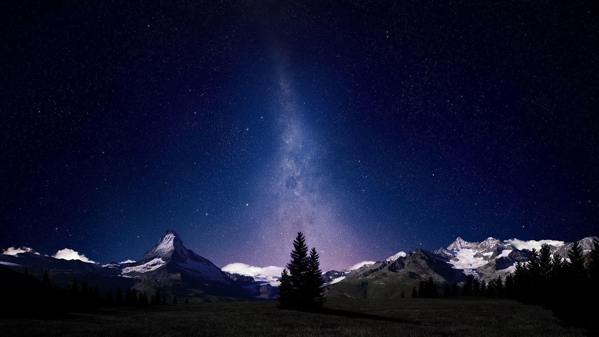0 Night Sky Stars Wallpapers Night Sky Stars Wallpapers