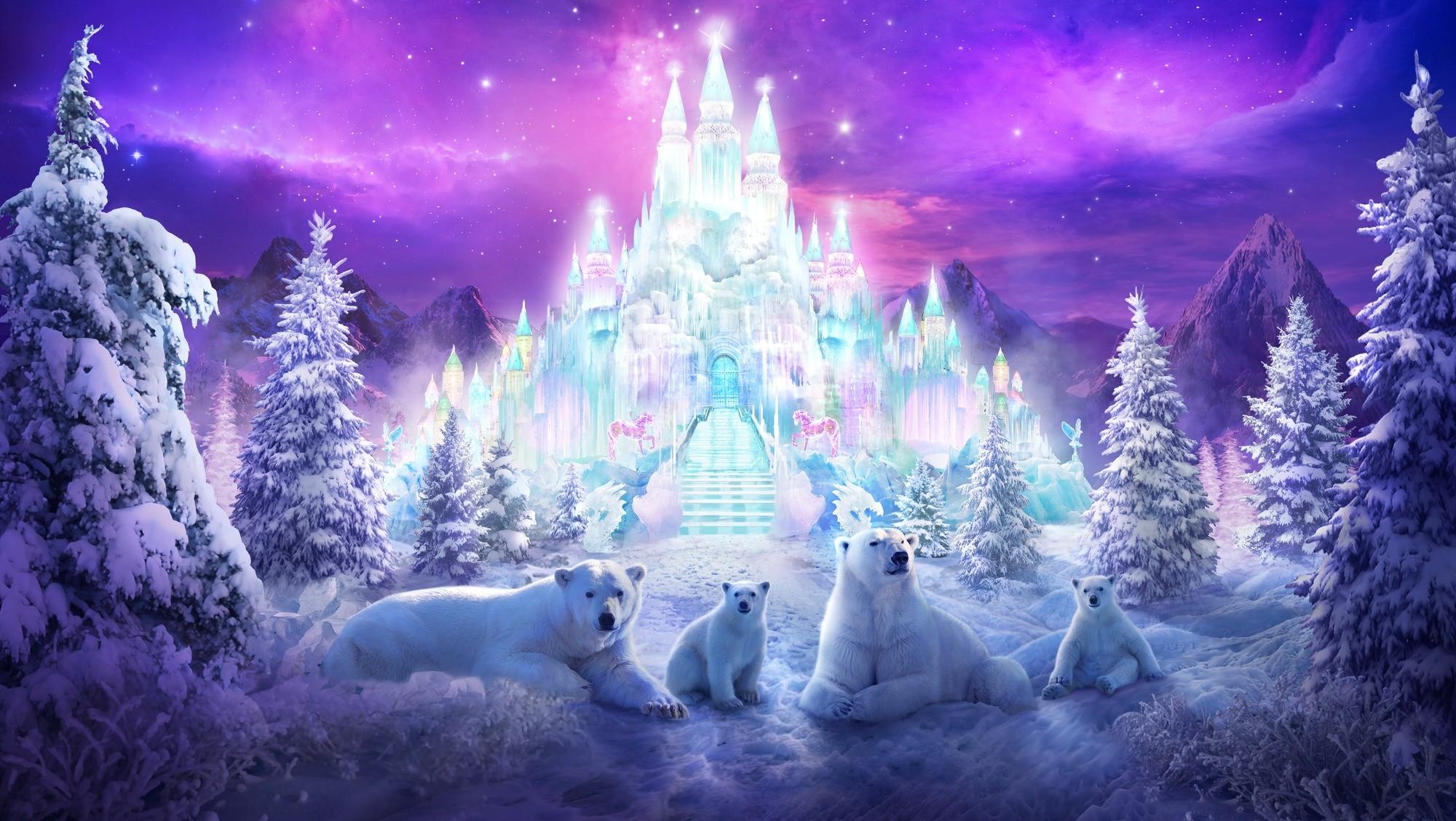 A Winter Wonderland Wall Mural Photo Wallpaper