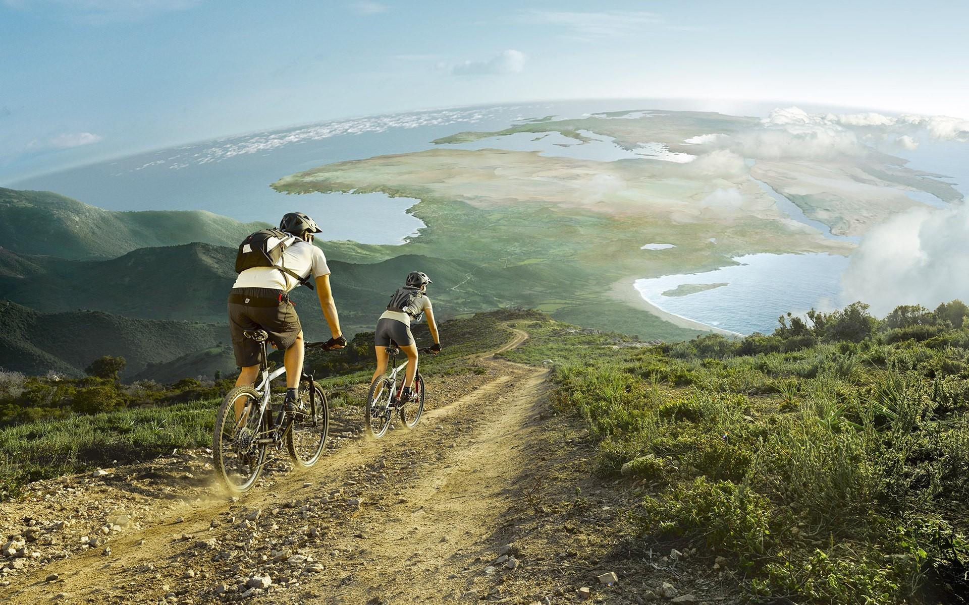 Cool Mountain Bike Wallpaper