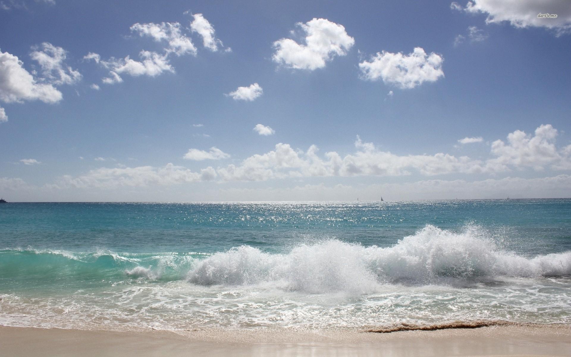 12794-waves-on-a-sunny-day-1920×1200-beach-wallpaper.jpg (1920×1200) |  Spiritual | Pinterest | Punta cana