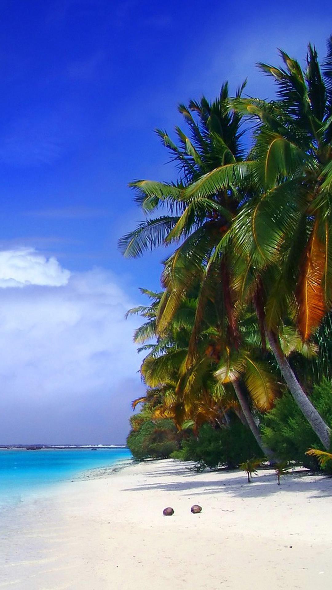 Sunny Beach [1080×1920] Need #iPhone #6S #Plus #Wallpaper/ #