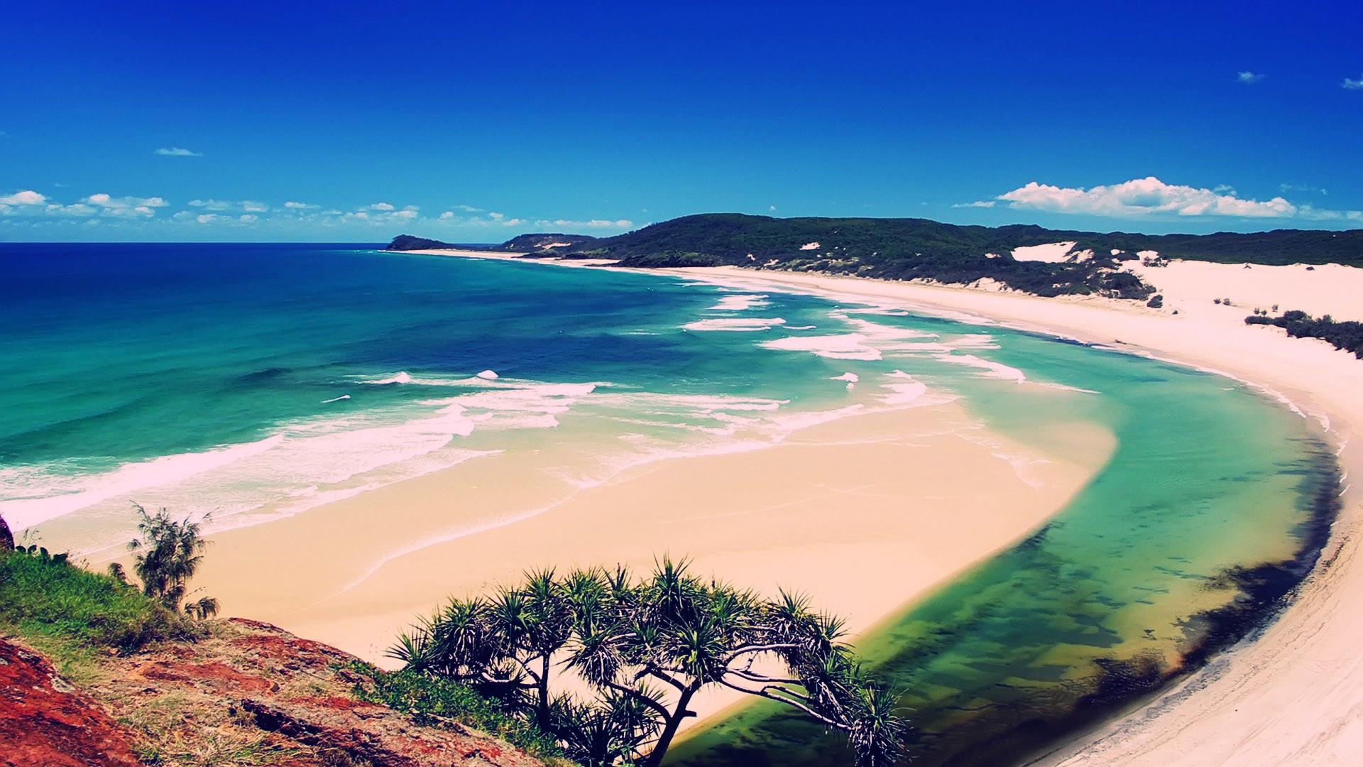 Beautiful Sunny Beach HD Photography Wallpaper 4875 #1702